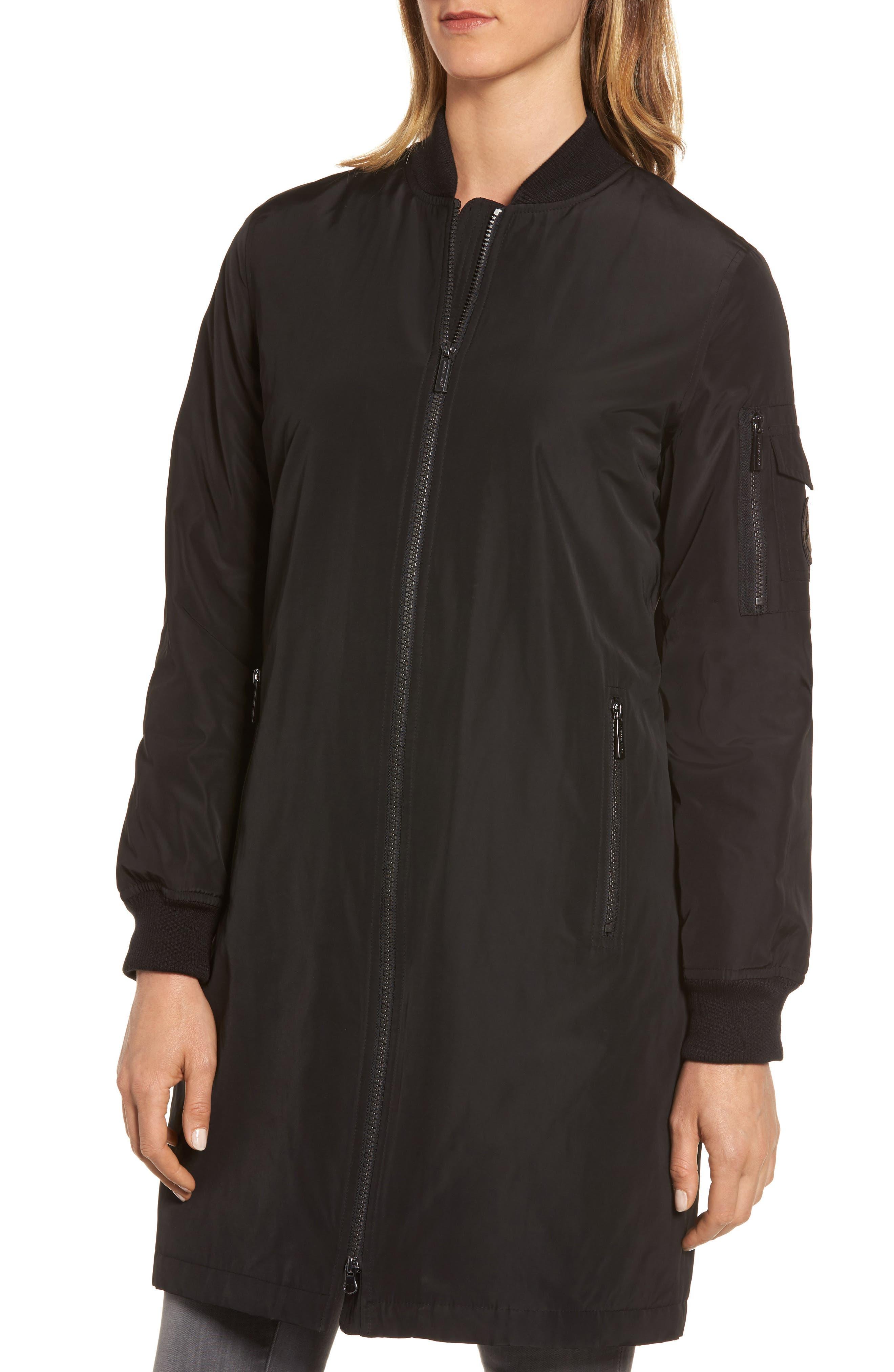 Alternate Image 4  - MICHAEL Michael Kors 3/4 Bomber Jacket