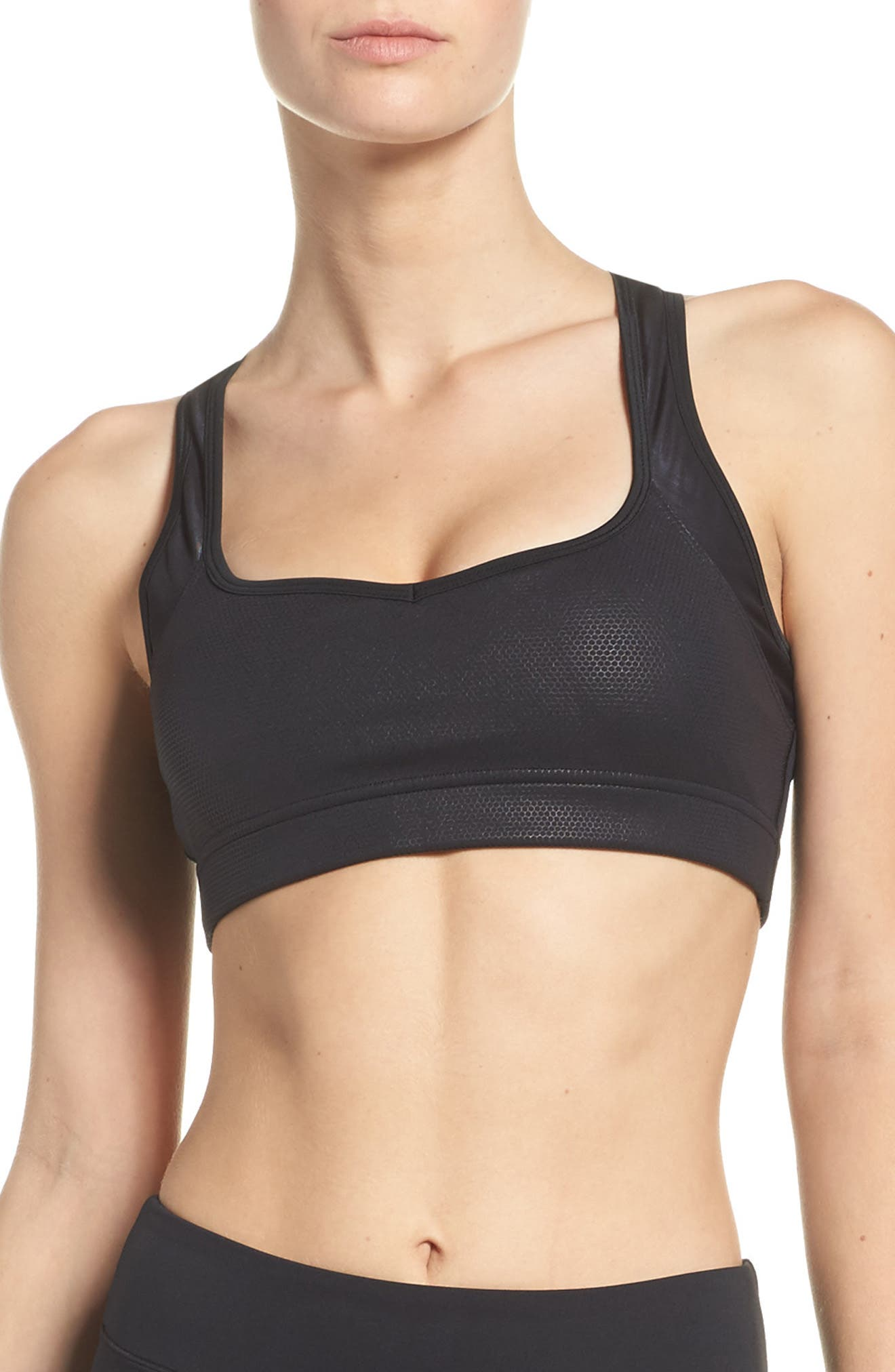 Billie Sports Bra,                         Main,                         color, Black Eclipse