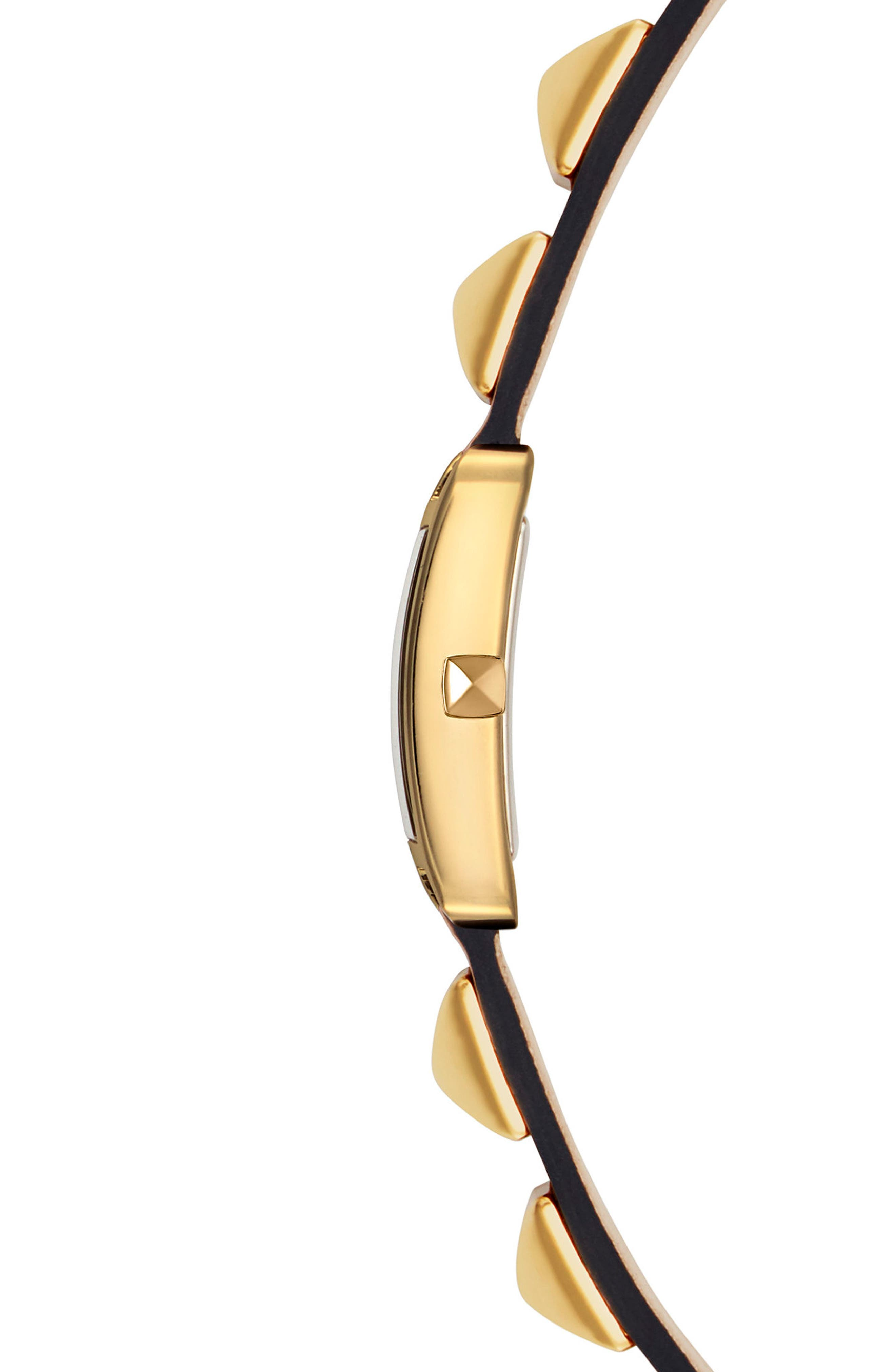 Alternate Image 3  - Rebecca Minkoff Wrap Leather Strap Watch, 19mm x 30mm