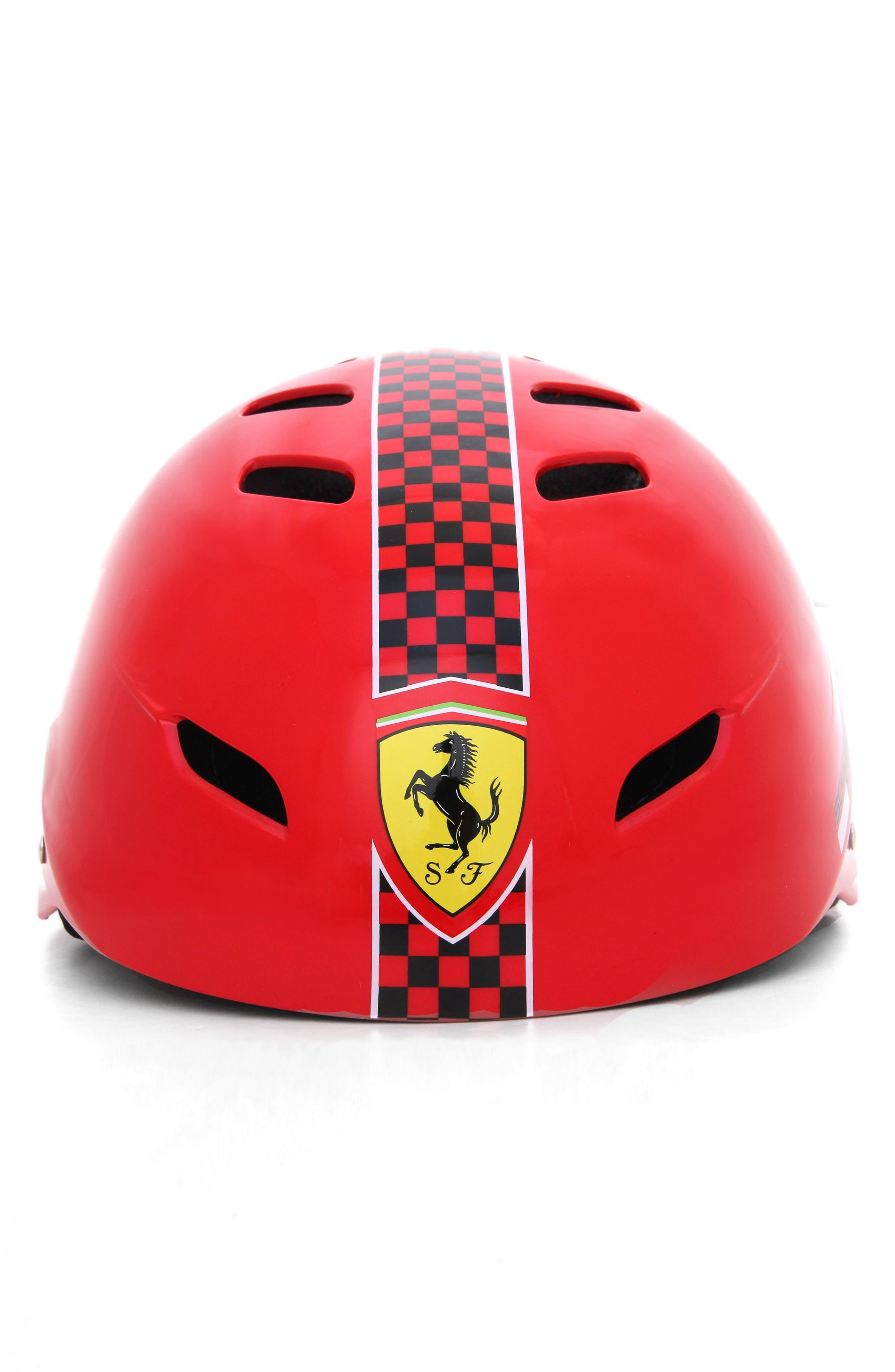 F1 Racing Helmet,                         Main,                         color, Red