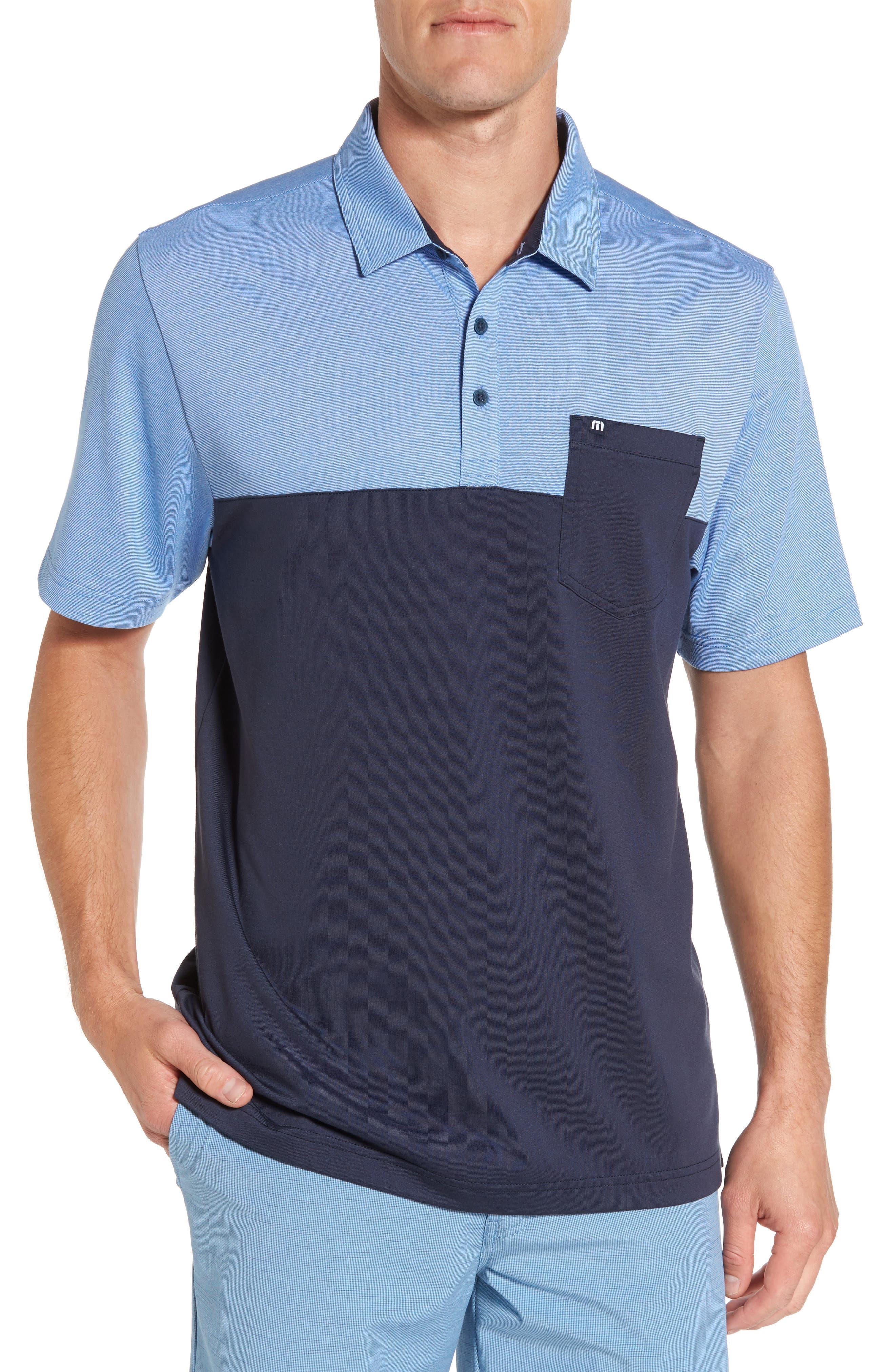 TRAVIS MATHEW The Lute Jersey Polo