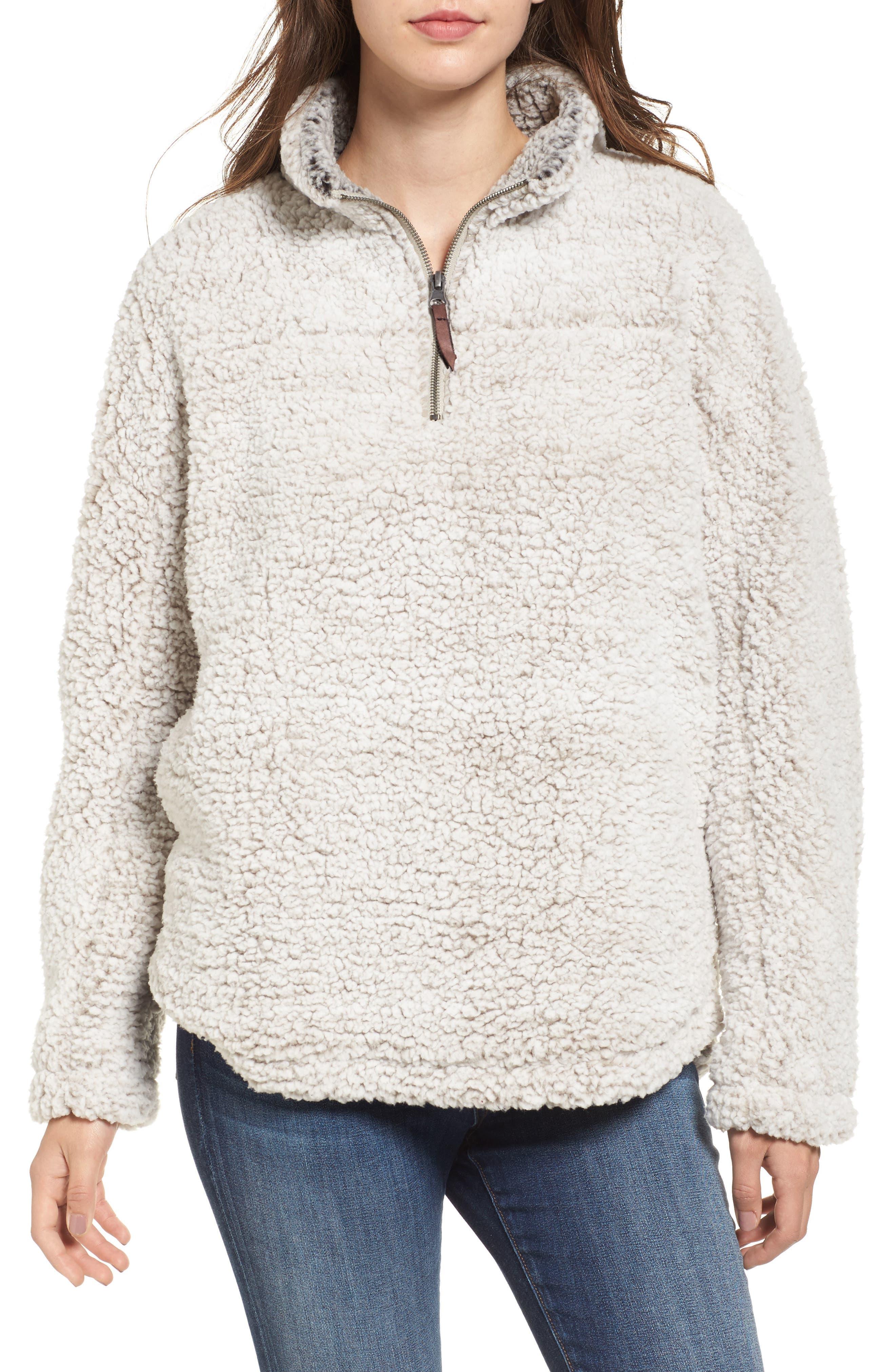 thread u0026 supply wubby fleece pullover