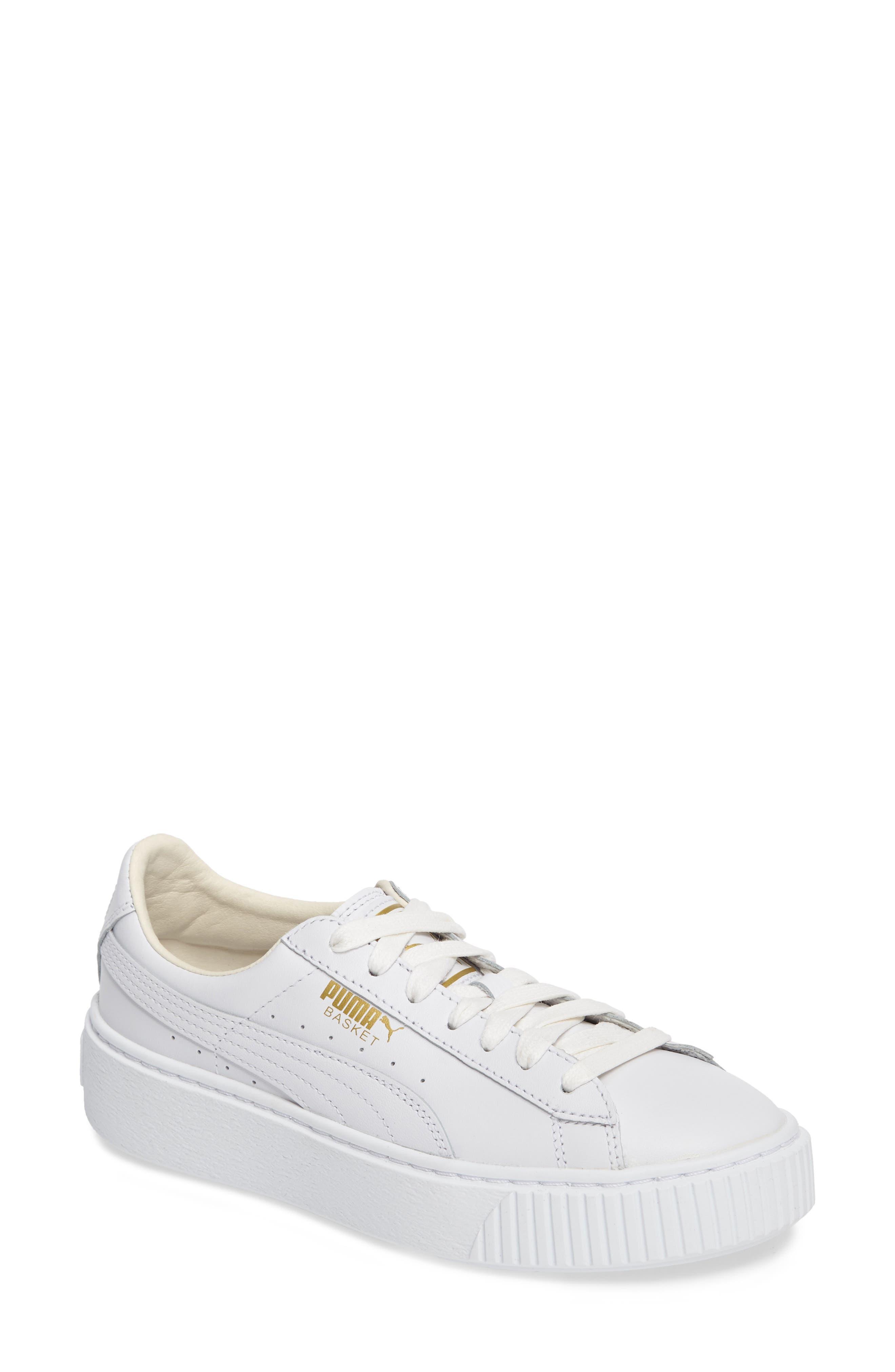 puma platform sneakers. main image - puma basket platform sneaker (women) puma sneakers nordstrom
