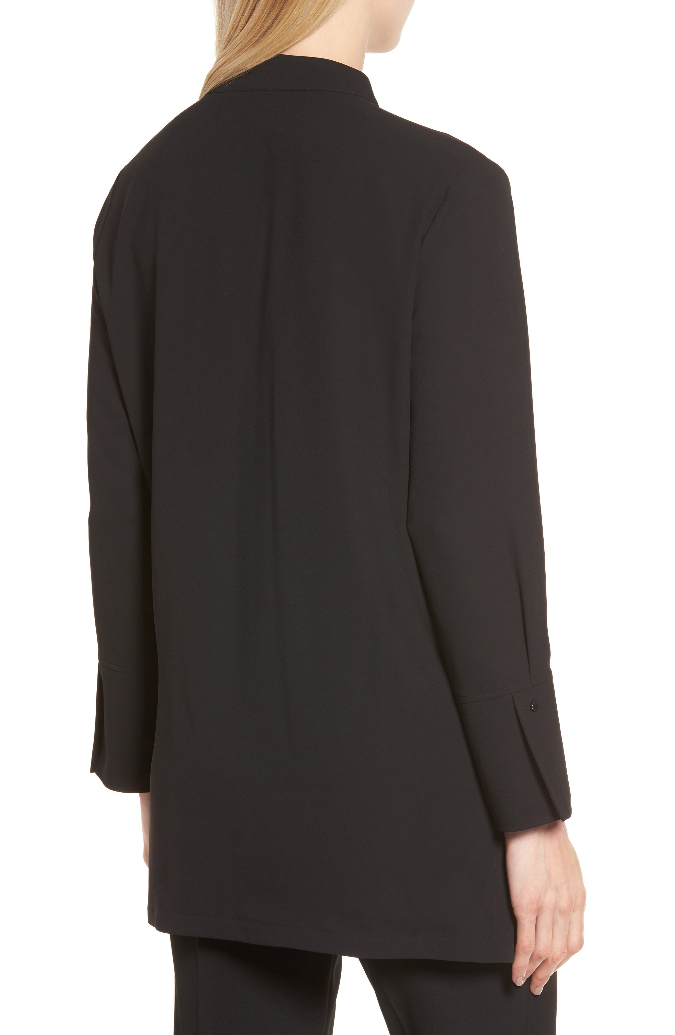 Alternate Image 2  - Ming Wang Grommet Trim Blouse