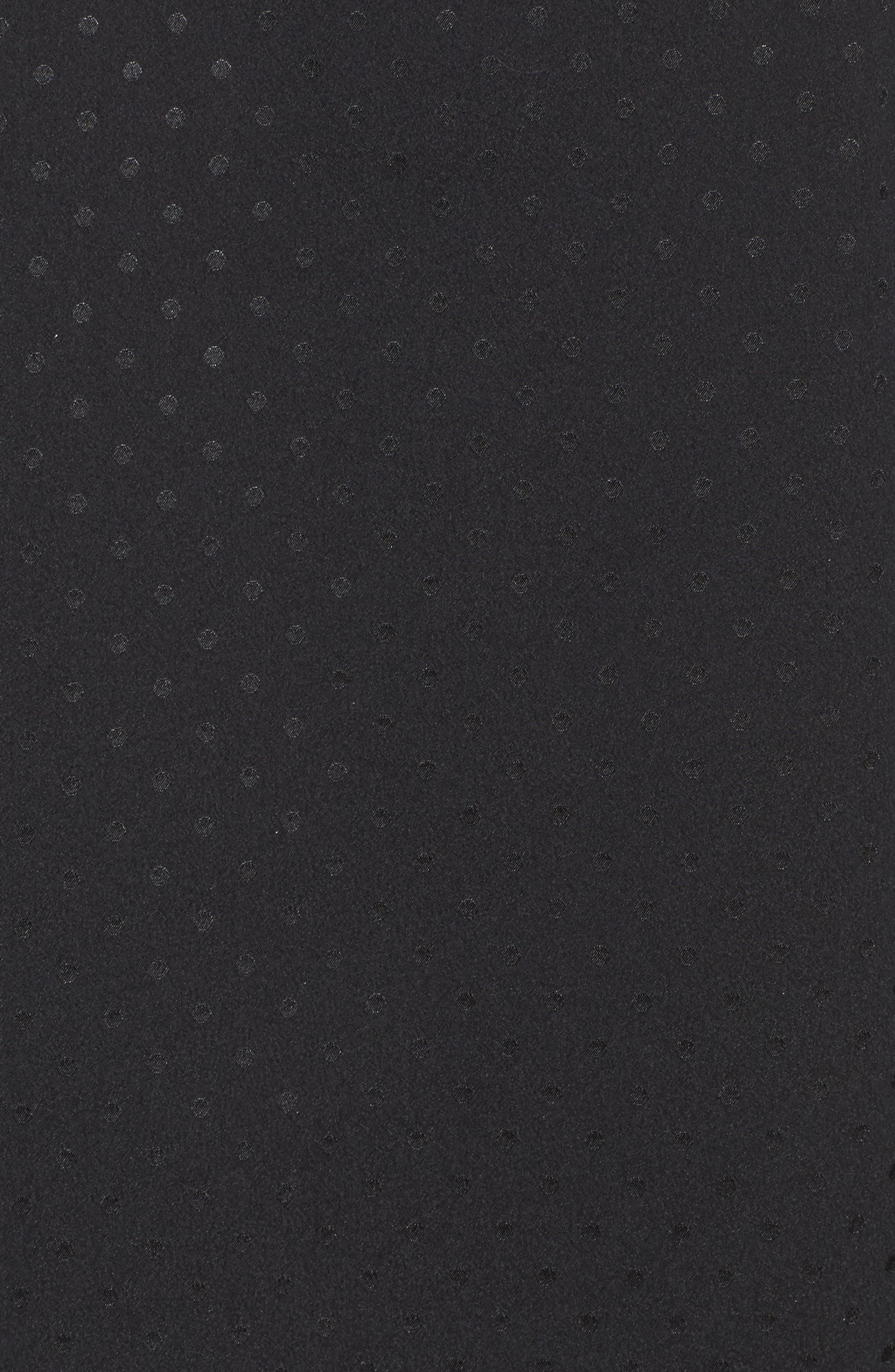 crop pajamas,                             Alternate thumbnail 6, color,                             Black