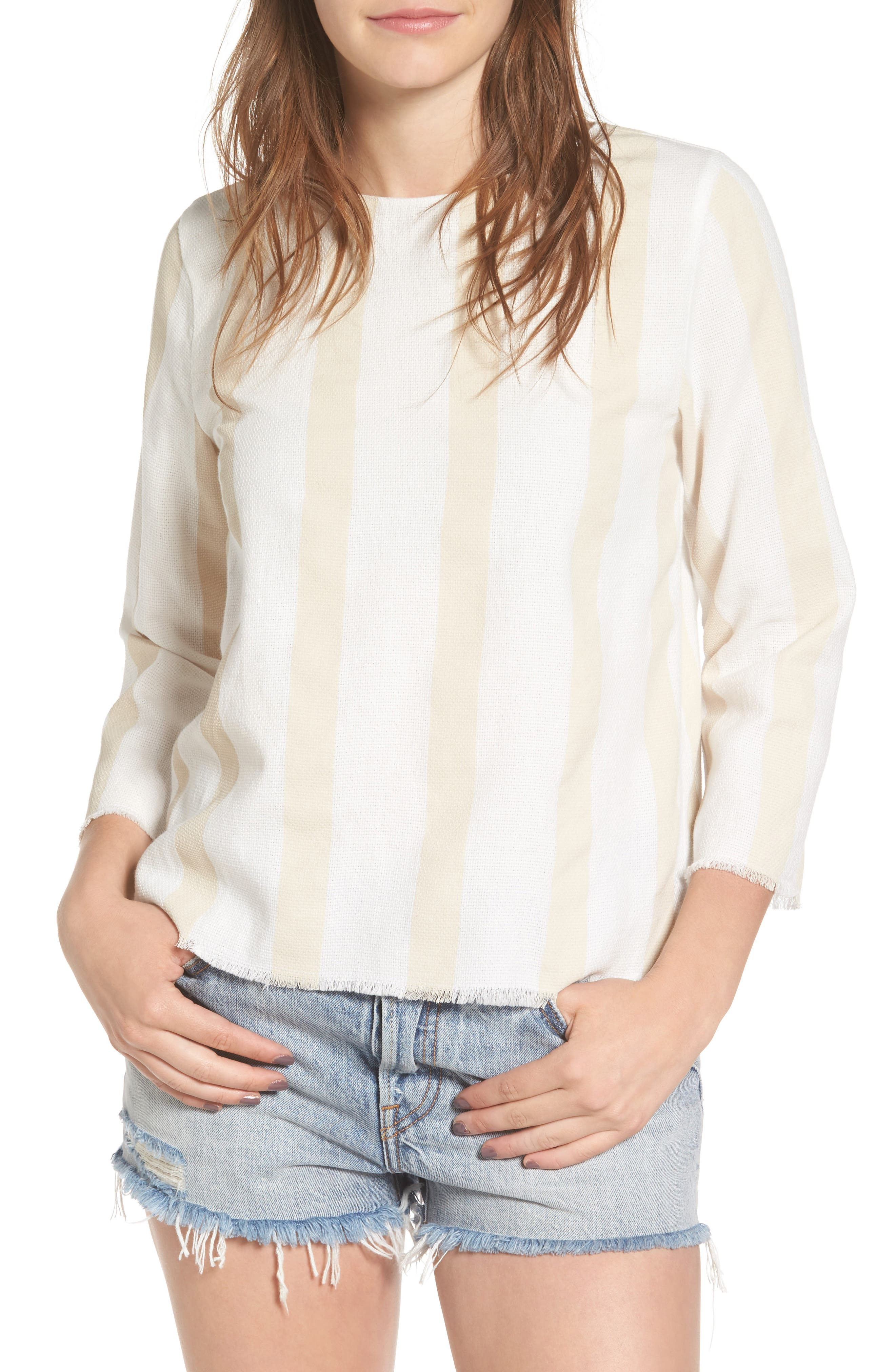 Sincerely Jules Stripe Cotton Top