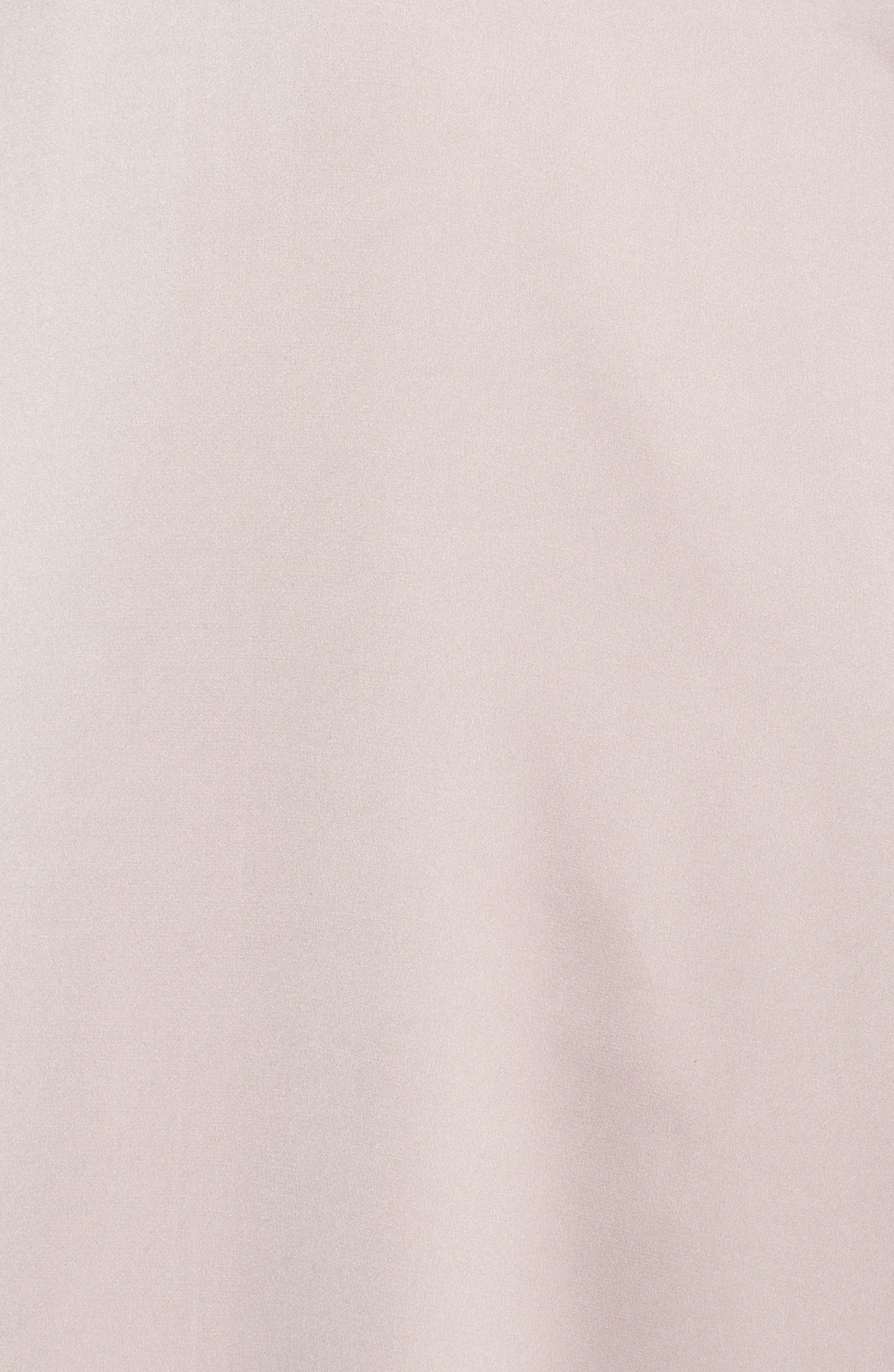 Alternate Image 6  - Monique Lhuillier Bridesmaids Dasha Tie Back Sateen Gown