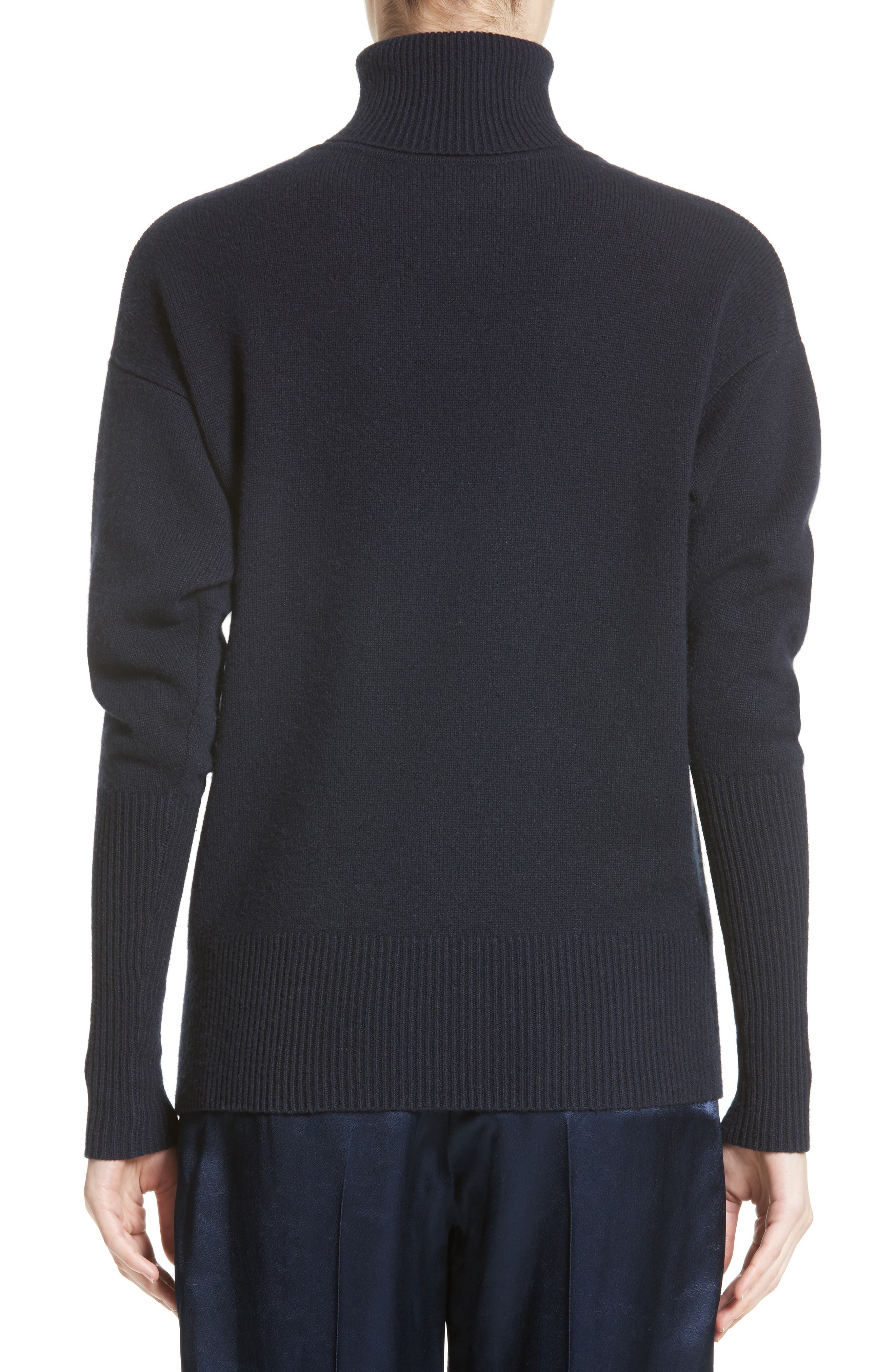 Alternate Image 3  - Victoria Beckham Cashmere Turtleneck Sweater