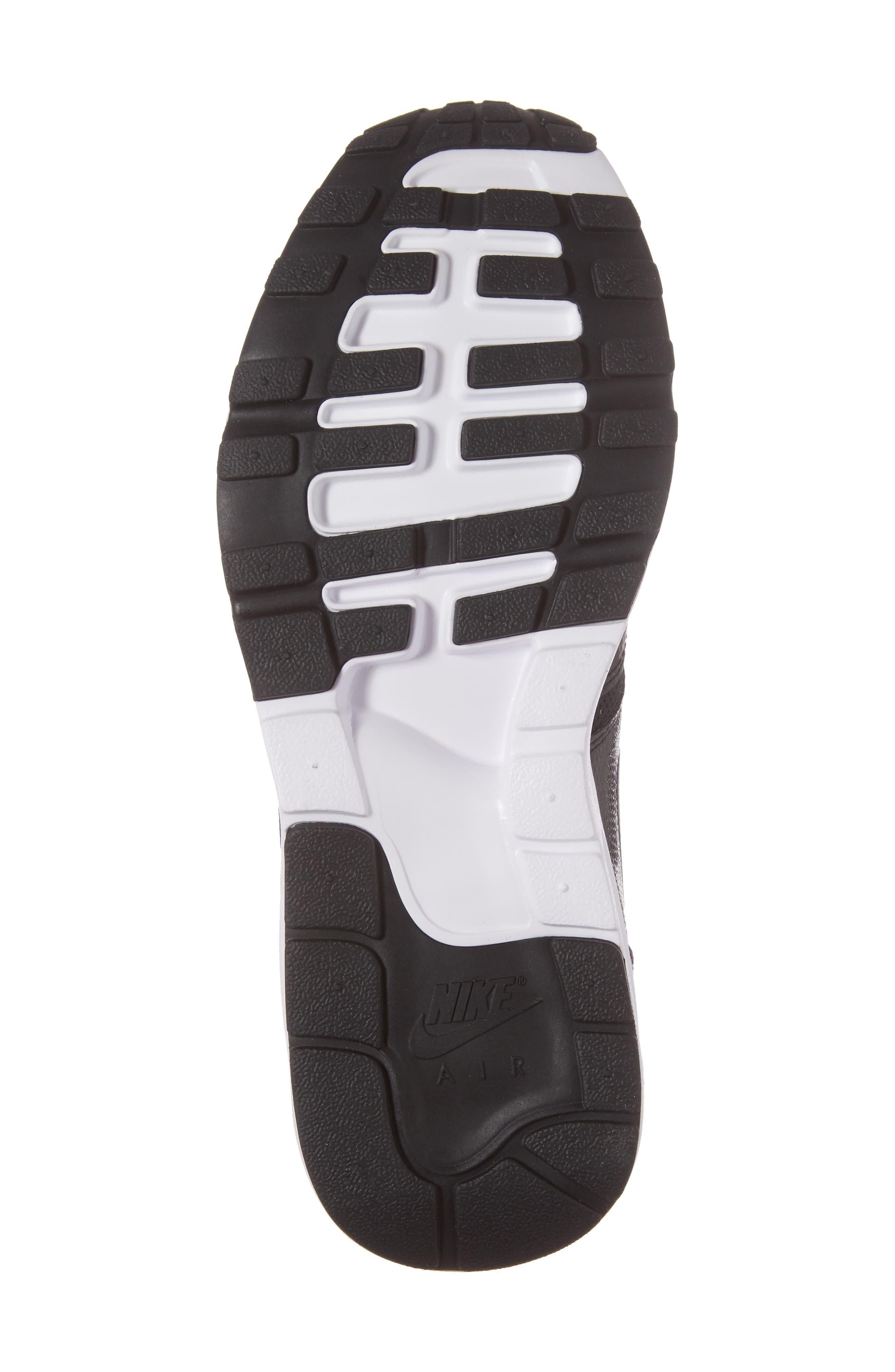 Air Max 1 Ultra 2.0 Running Shoe,                             Alternate thumbnail 6, color,                             Hematite/ Black/ White