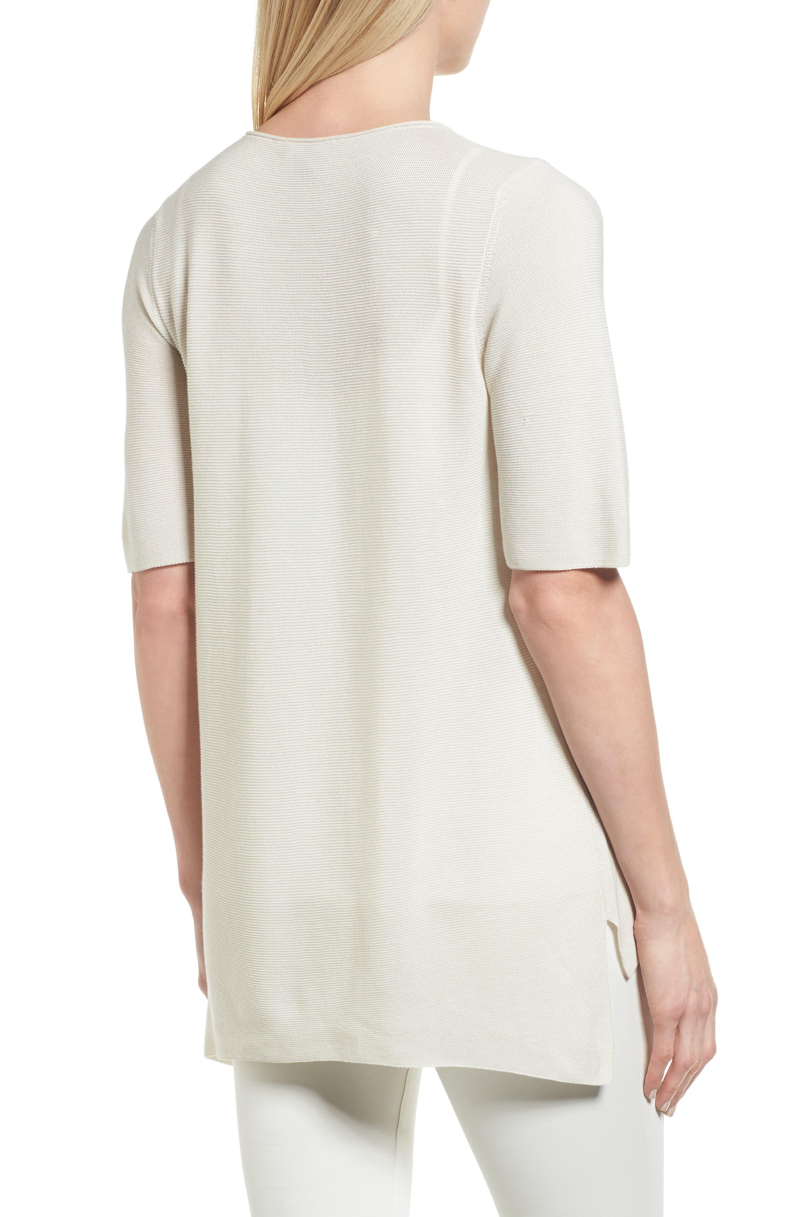 Alternate Image 2  - Eileen Fisher Tencel® Knit Top (Regular & Petite)