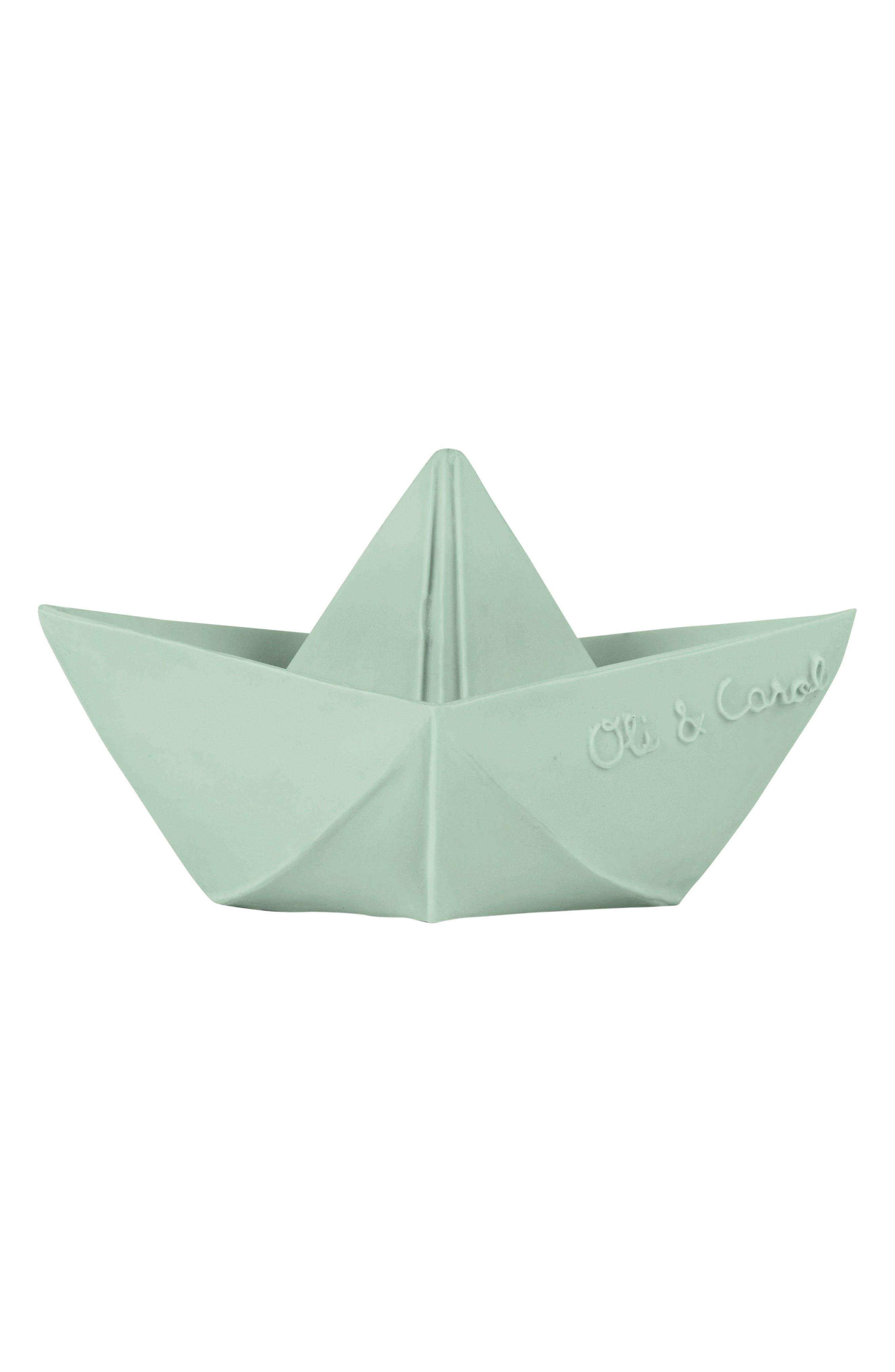 Alternate Image 3  - Oli & Carol Origami Boat Bath Toy