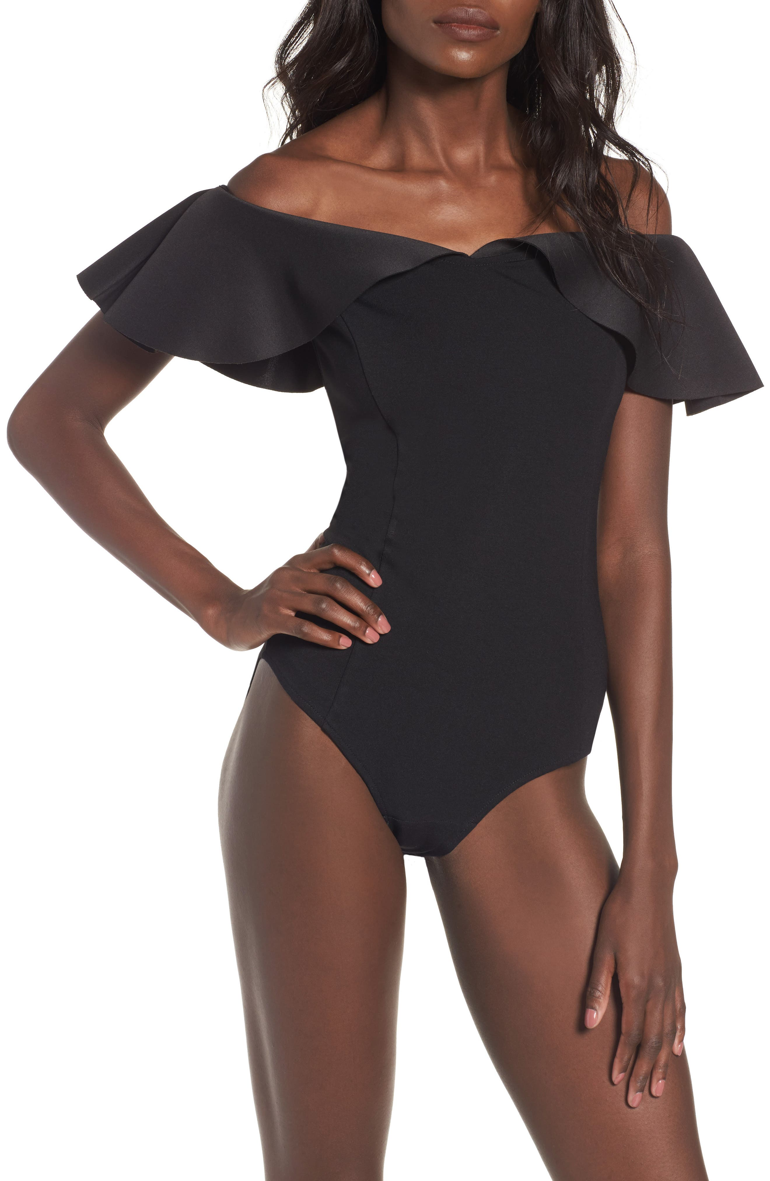 Alternate Image 4  - devlin Willa Bodysuit
