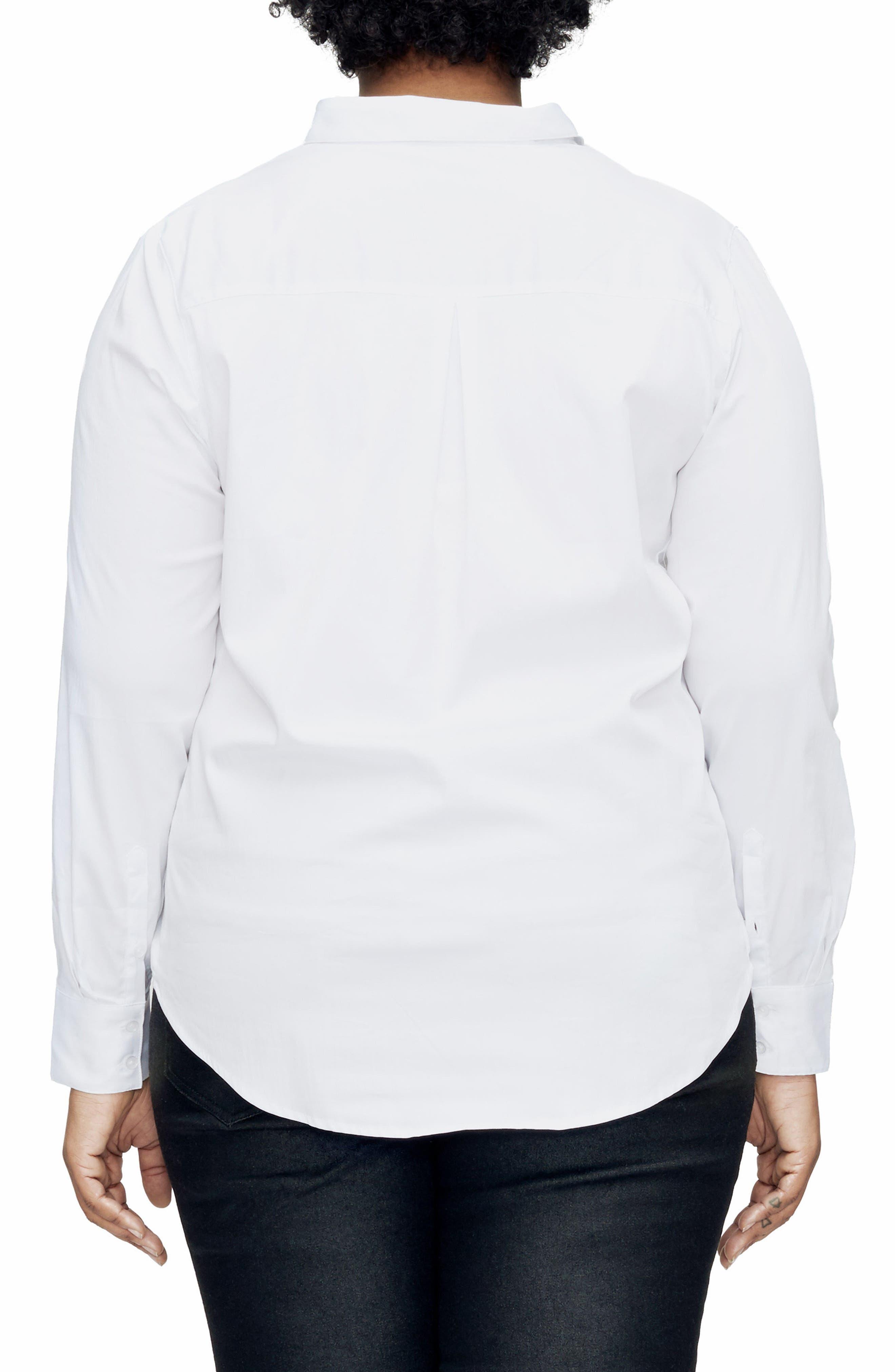 Elbe Shirt,                             Alternate thumbnail 2, color,                             White