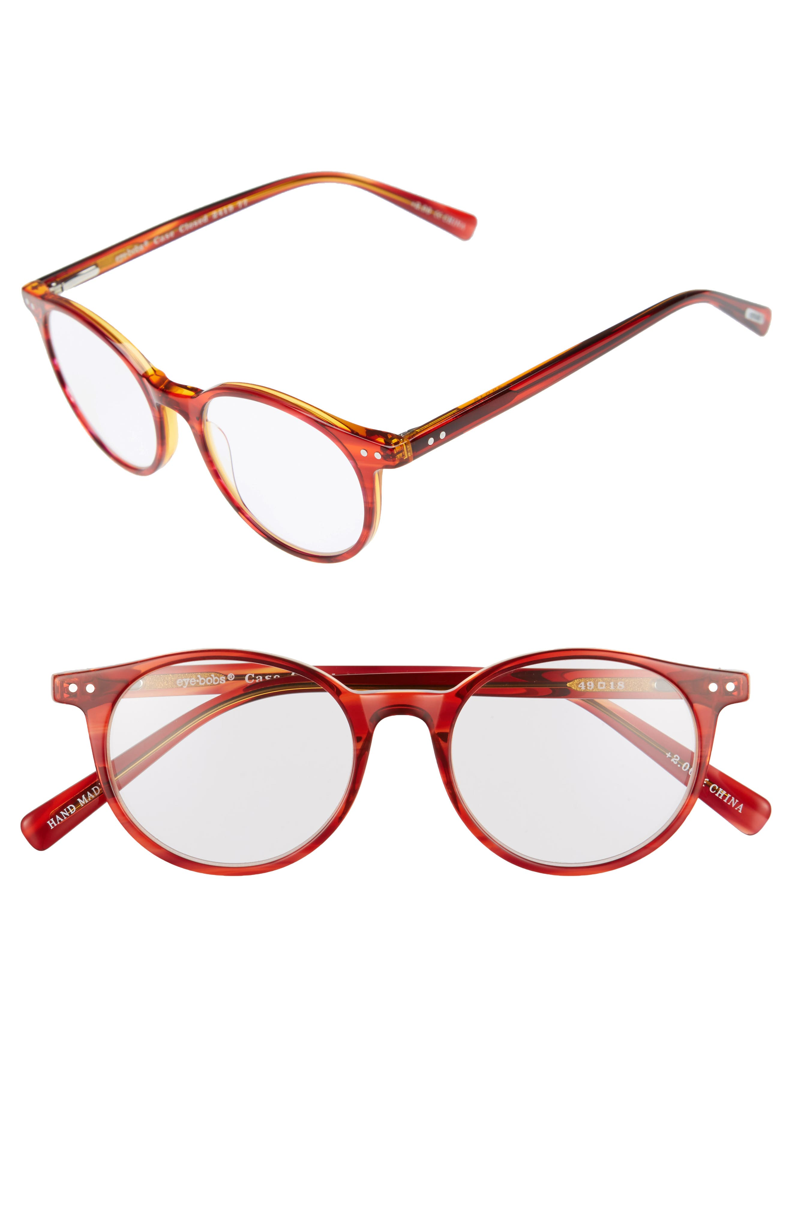Eyebobs Case Closed 49mm Reading Glasses