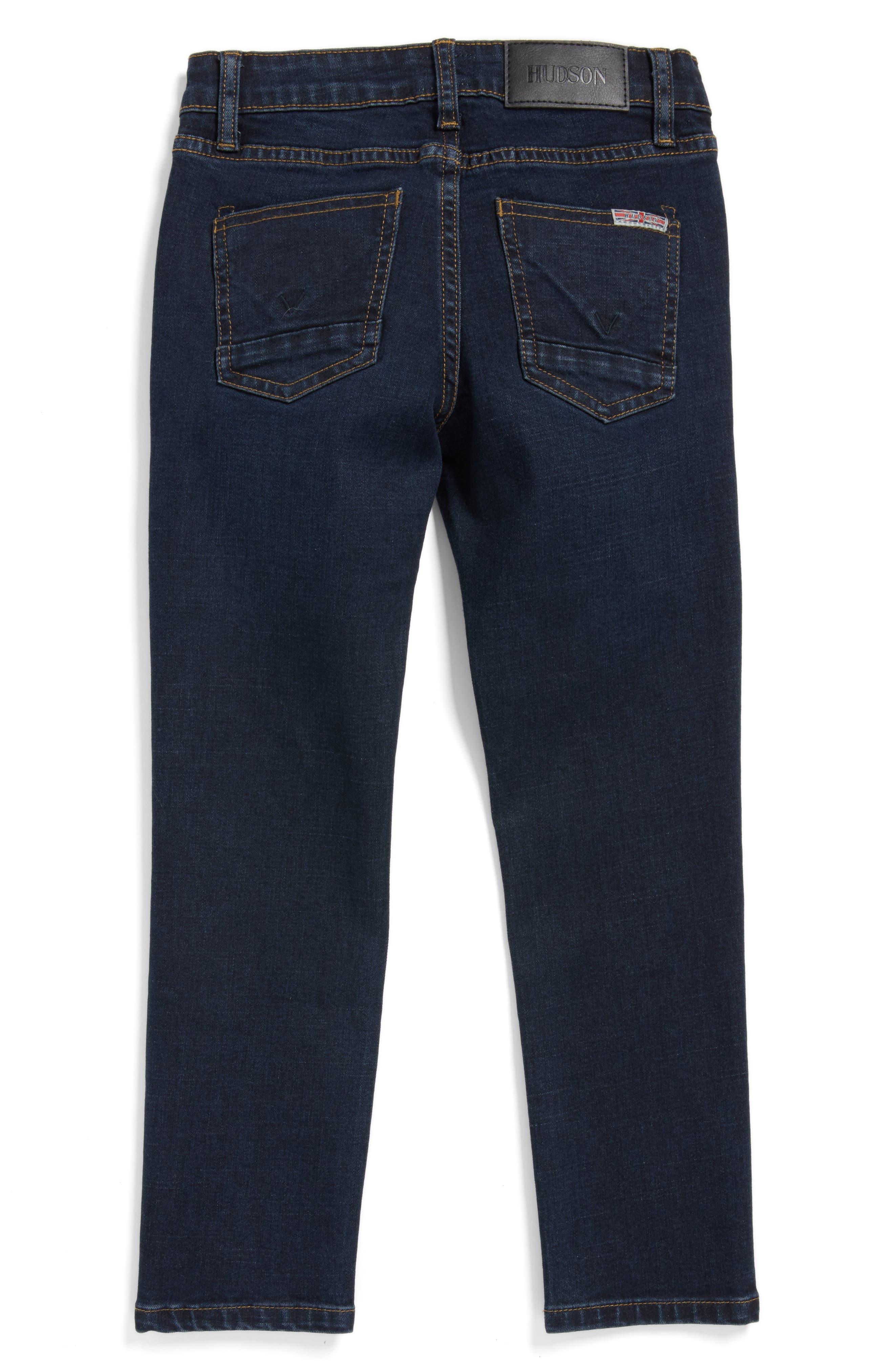 Alternate Image 2  - Hudson Jagger Slim Straight Leg Jeans (Toddler Boys, Little Boys & Big Boys)