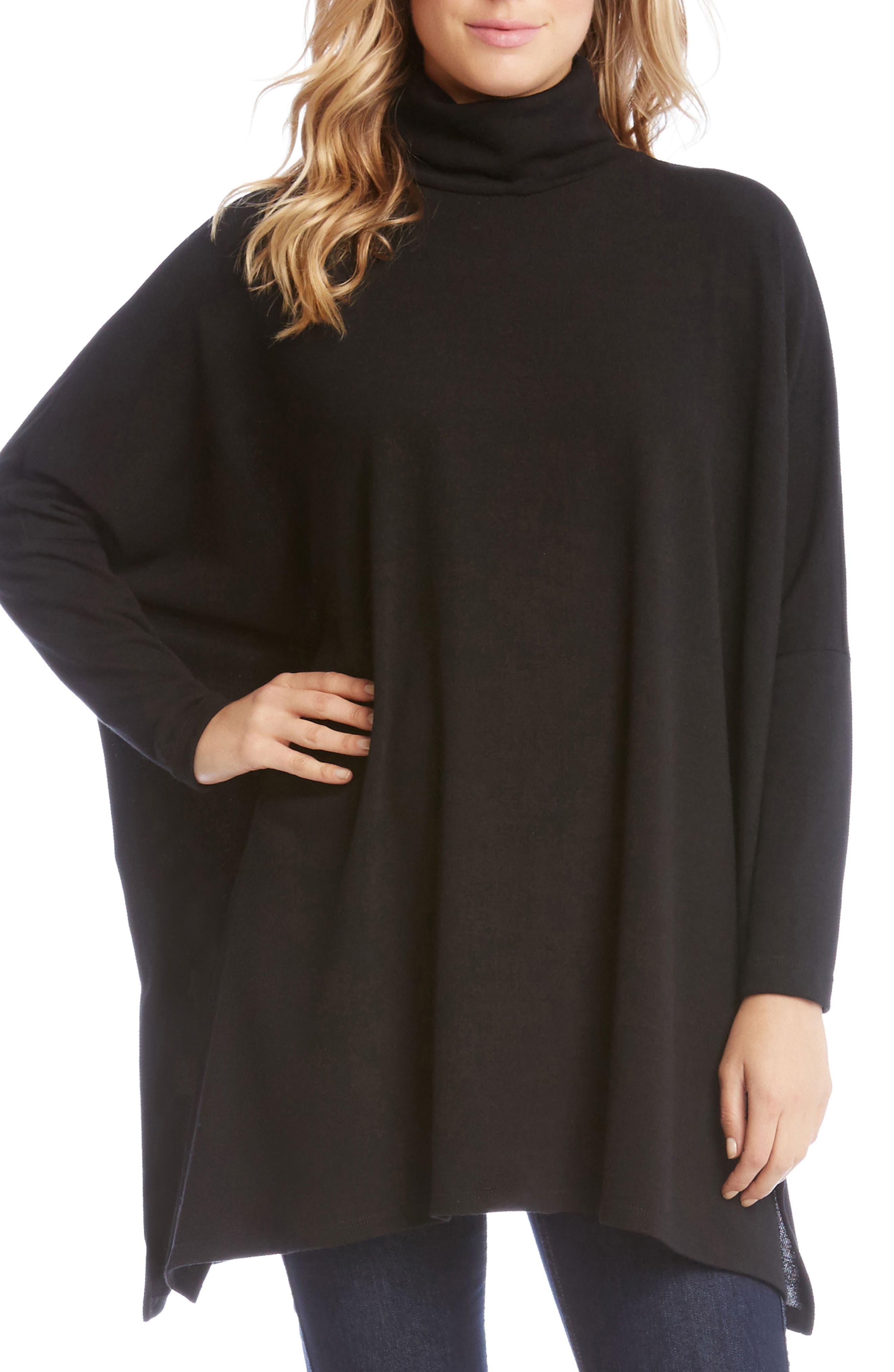 Karen Kane Poncho Sweater