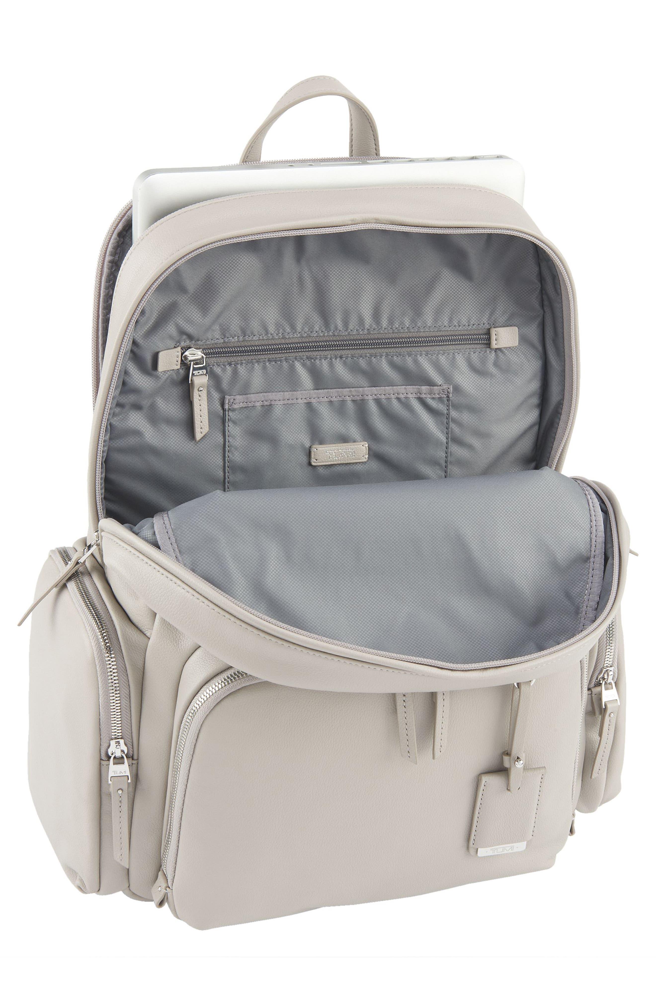 Alternate Image 4  - Tumi Calais Leather Computer Backpack