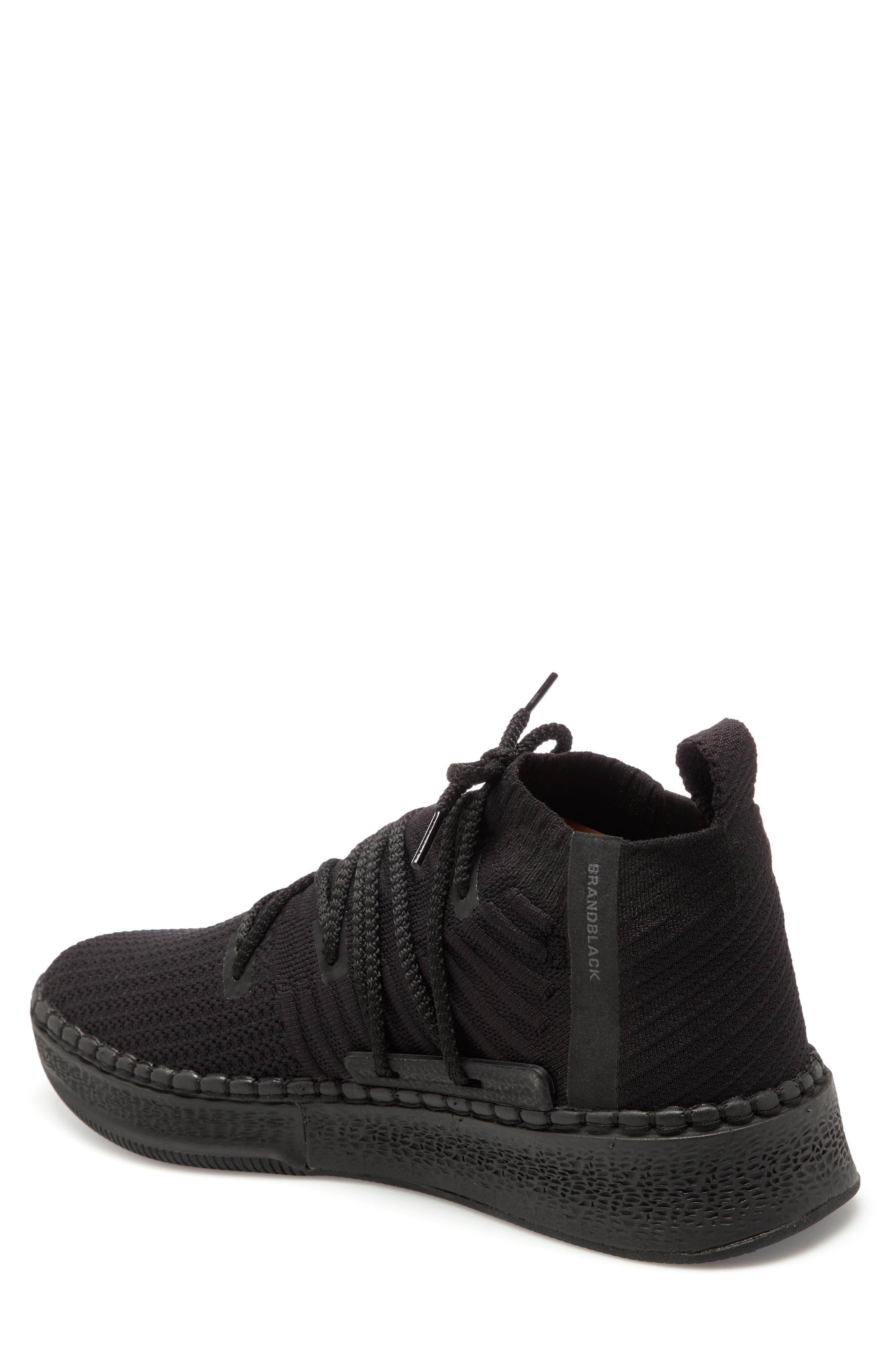 Delta Sneaker,                             Alternate thumbnail 2, color,                             Black