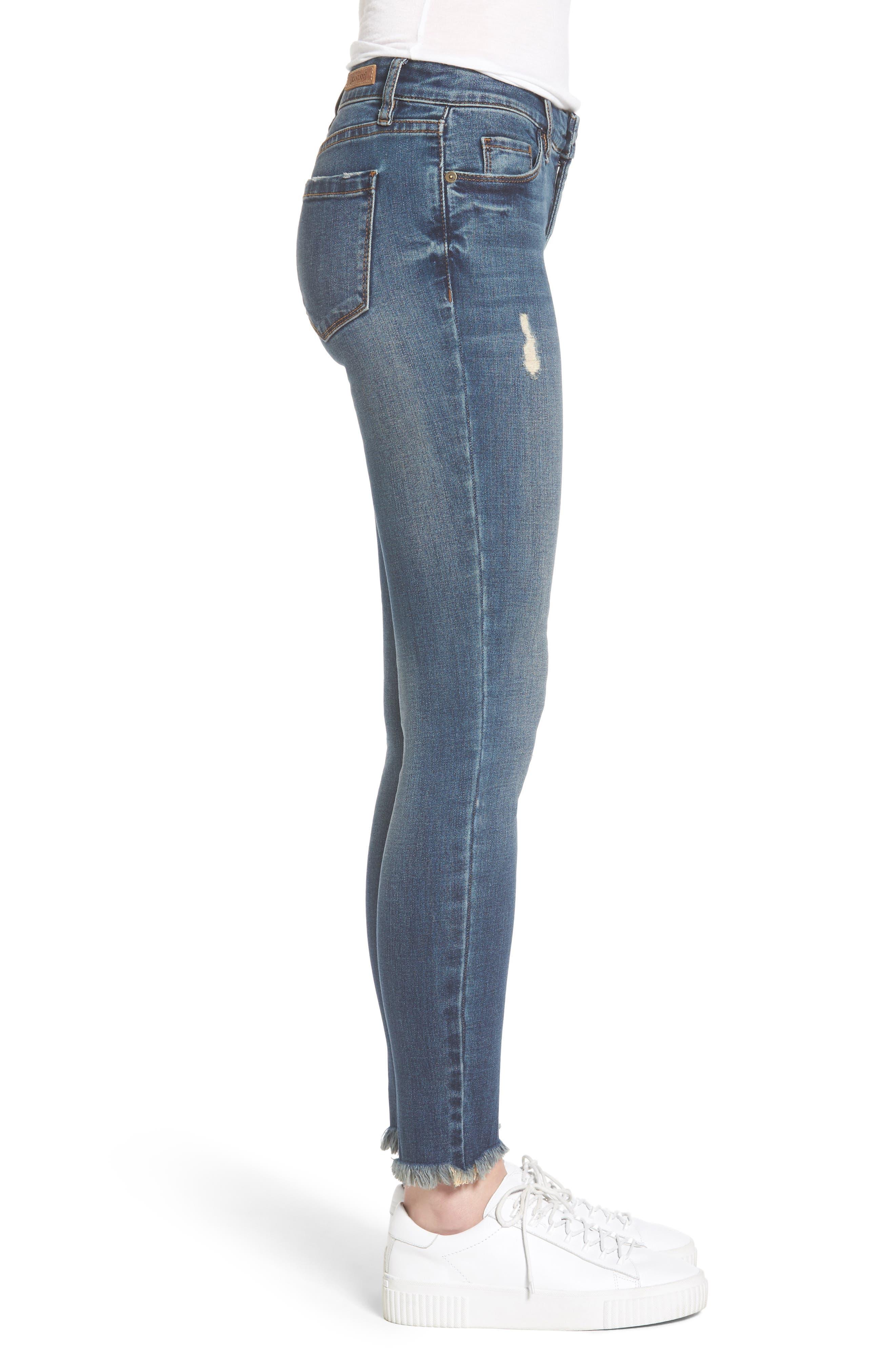 Alternate Image 4  - BLANKNYC Skinny Ankle Jeans