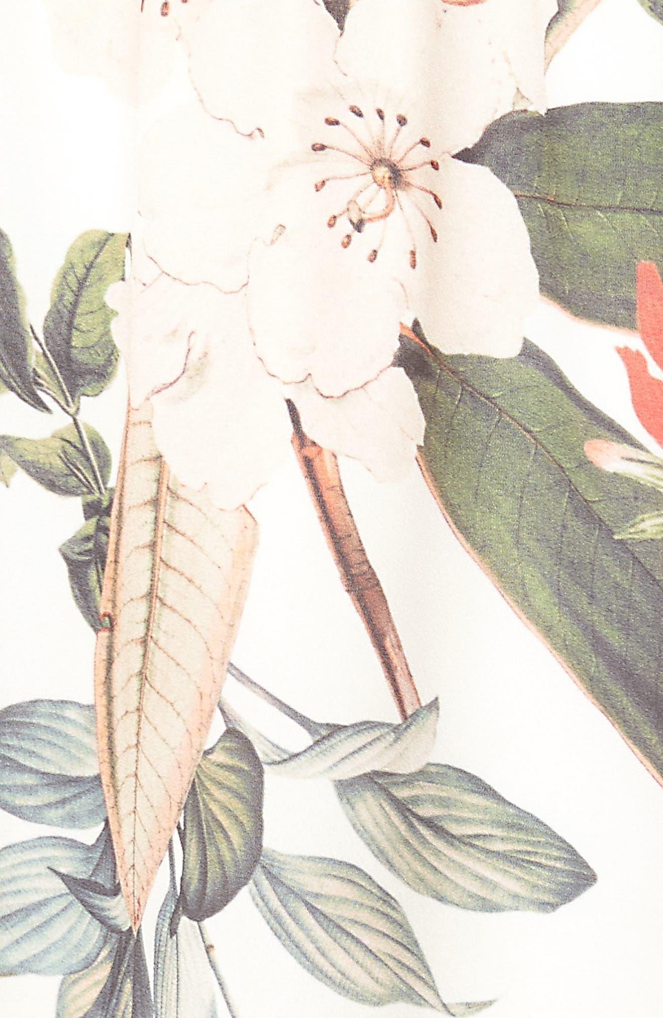Carlita Miniskirt,                             Alternate thumbnail 5, color,                             Enchanted Florist