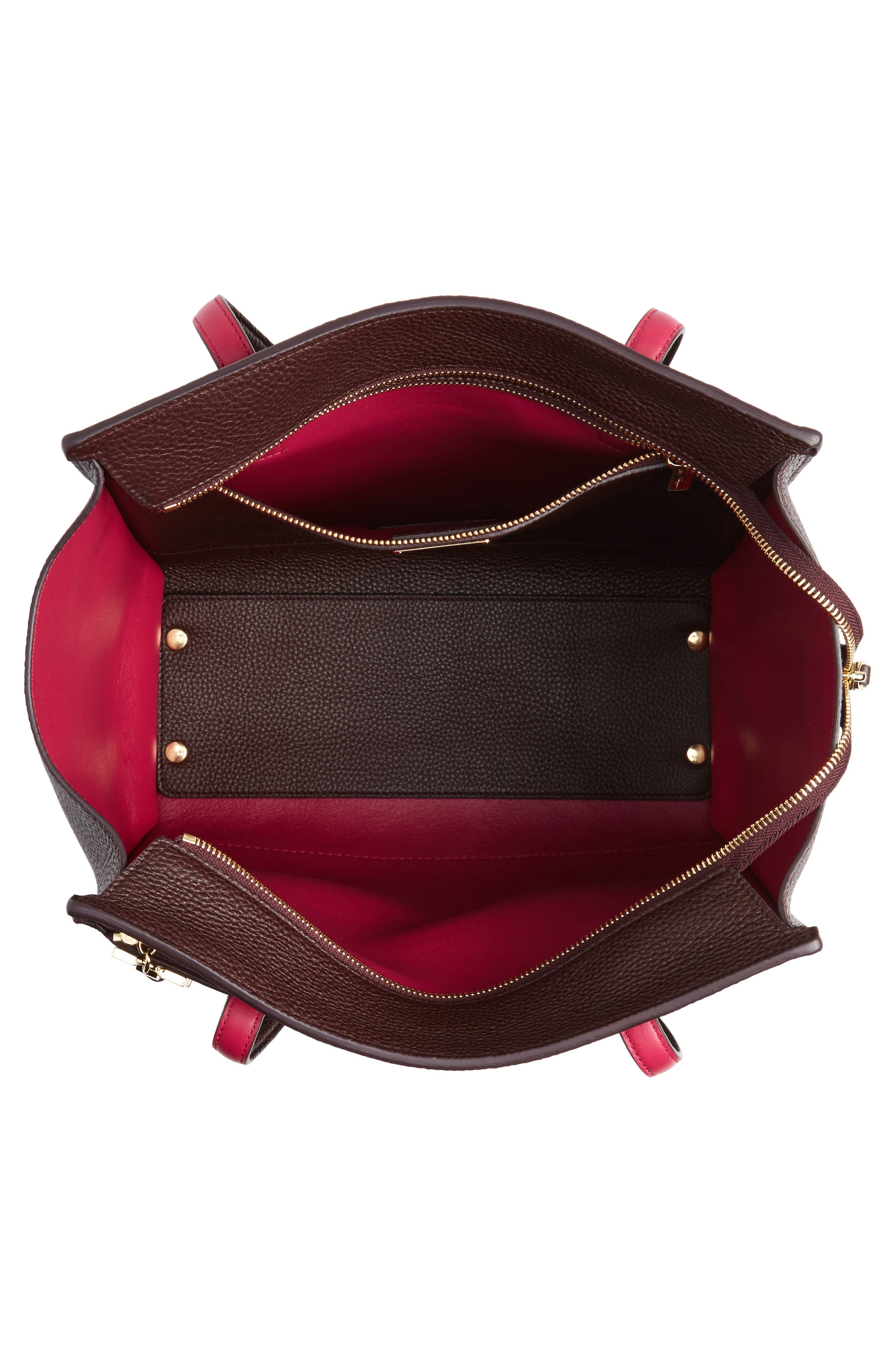 Alternate Image 3  - Salvatore Ferragamo Medium Bicolor Leather Tote