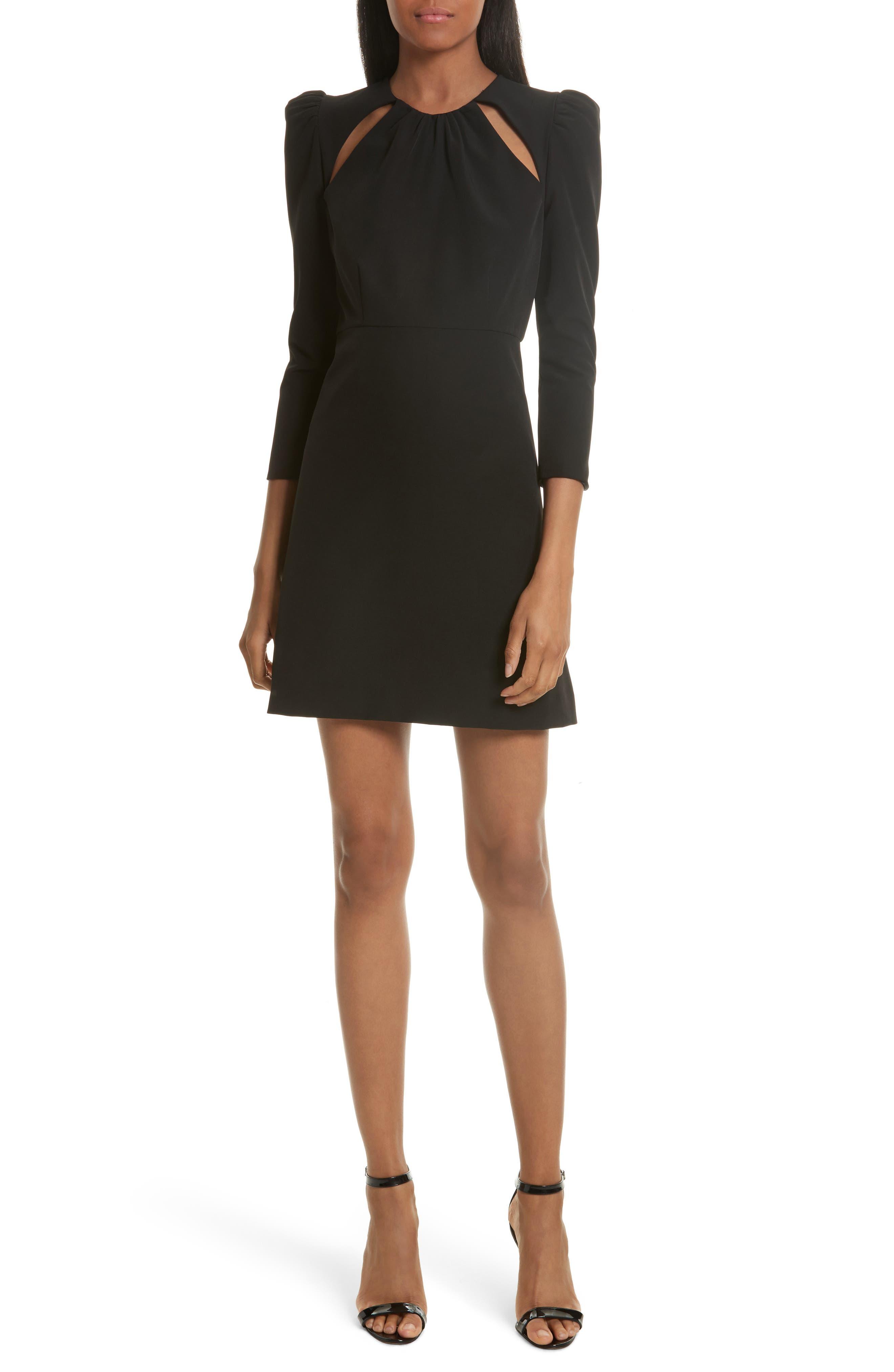 Milly Emma Italian Cady A-Line Dress