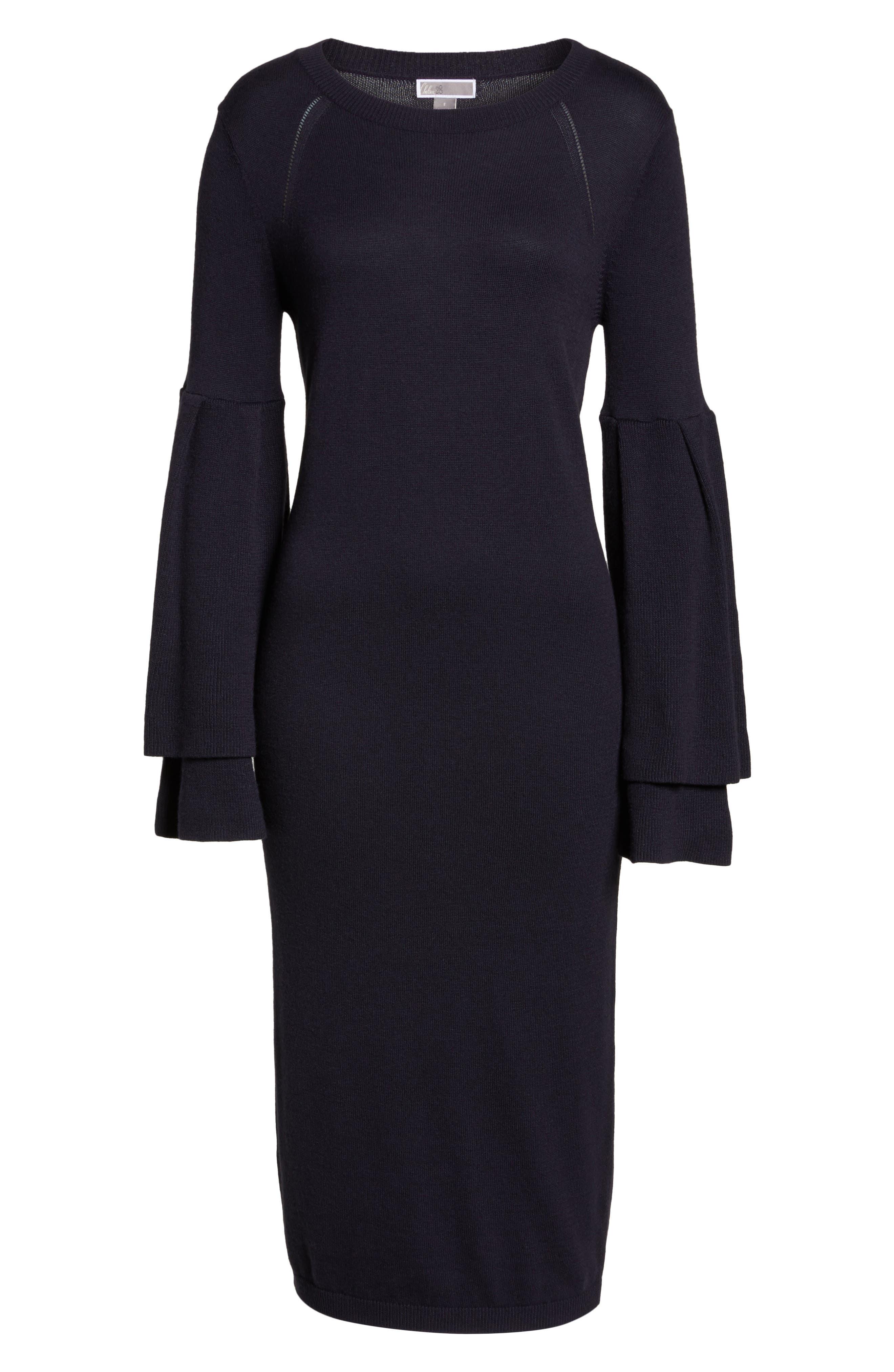 Alternate Image 6  - Chelsea28 Bell Sleeve Sweater Dress