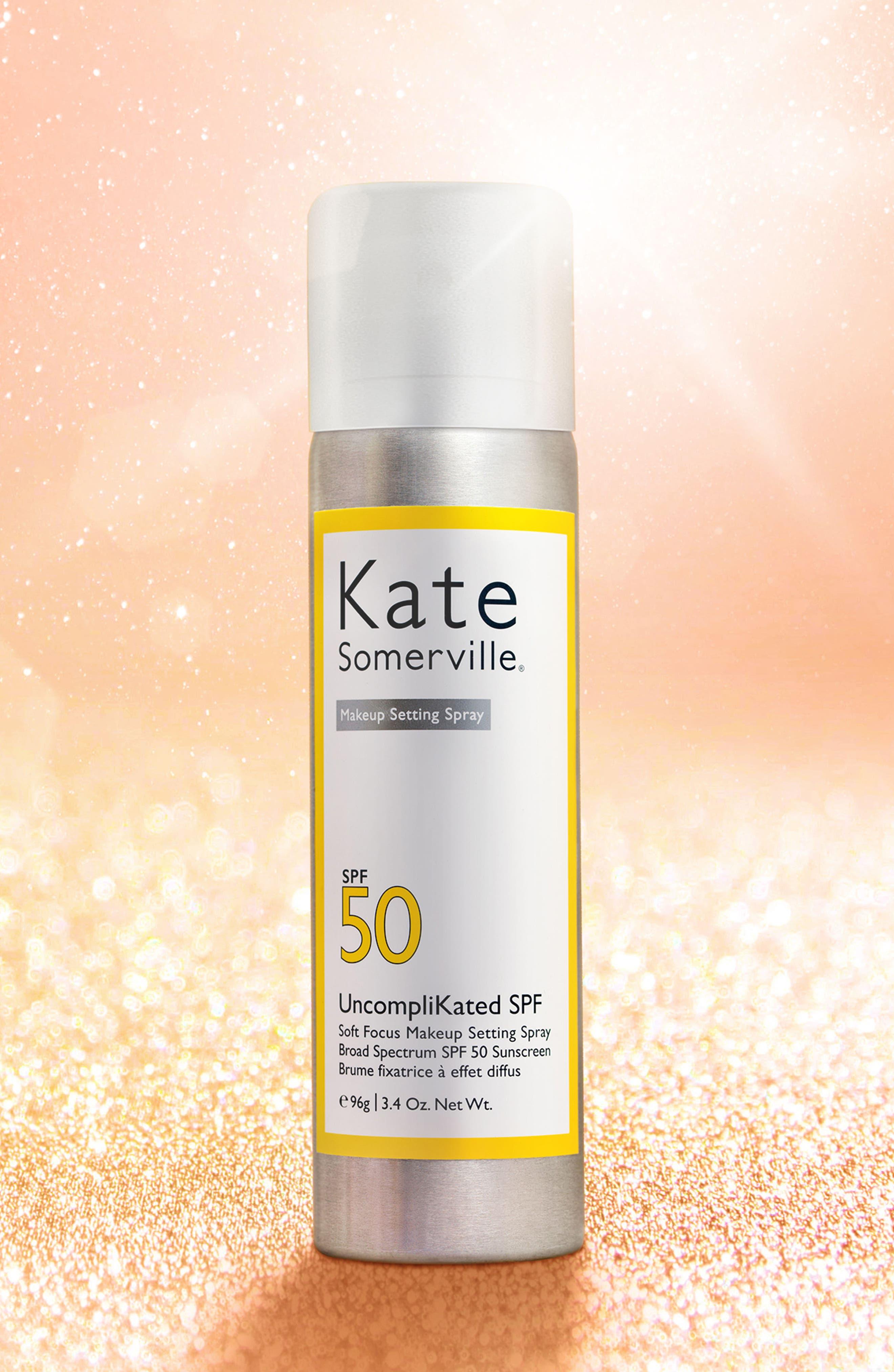 Alternate Image 3  - Kate Somerville® UncompliKated SPF Makeup Setting Spray SPF 50