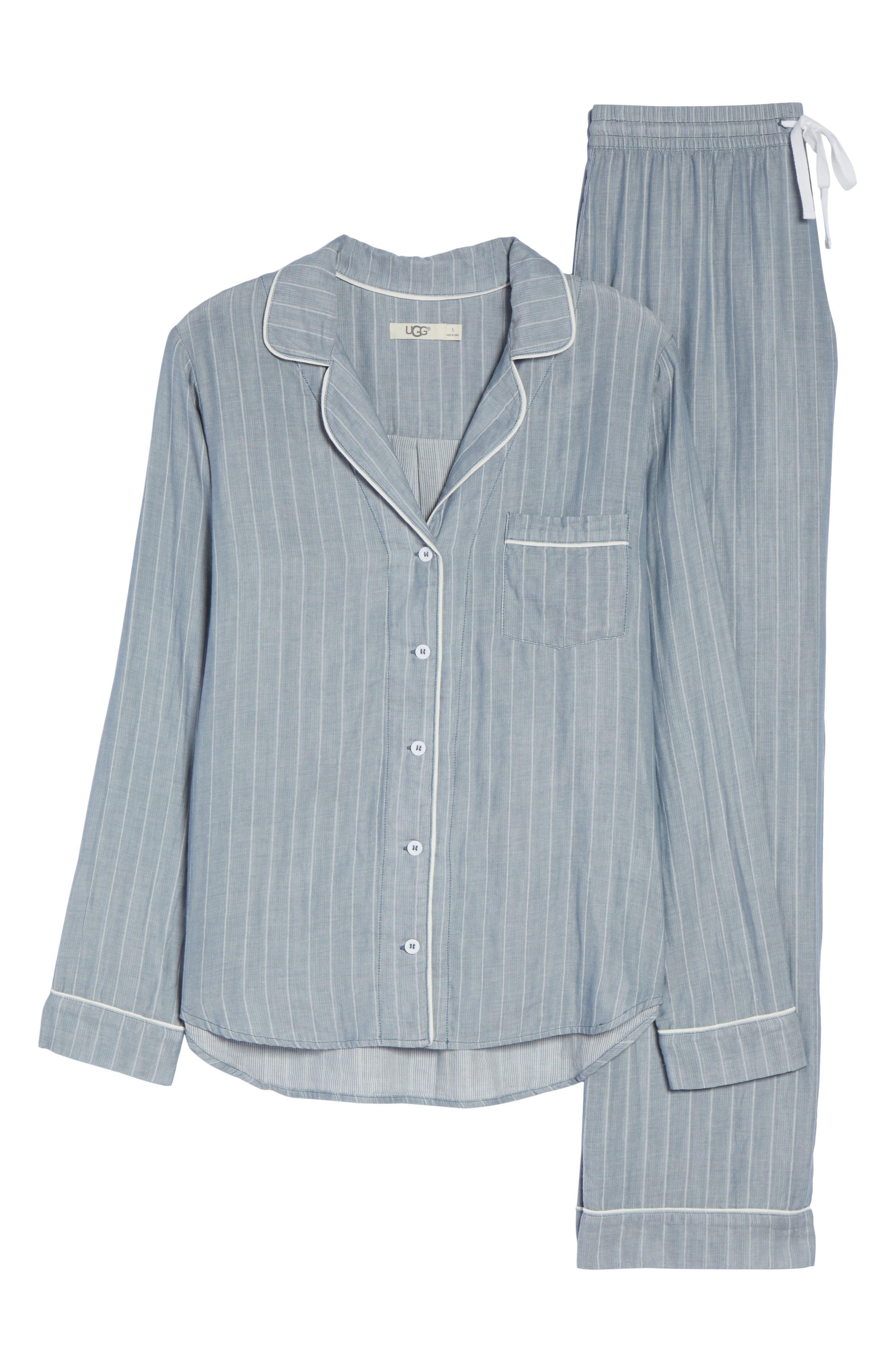 Alternate Image 4  - UGG® Raven Stripe Pajamas