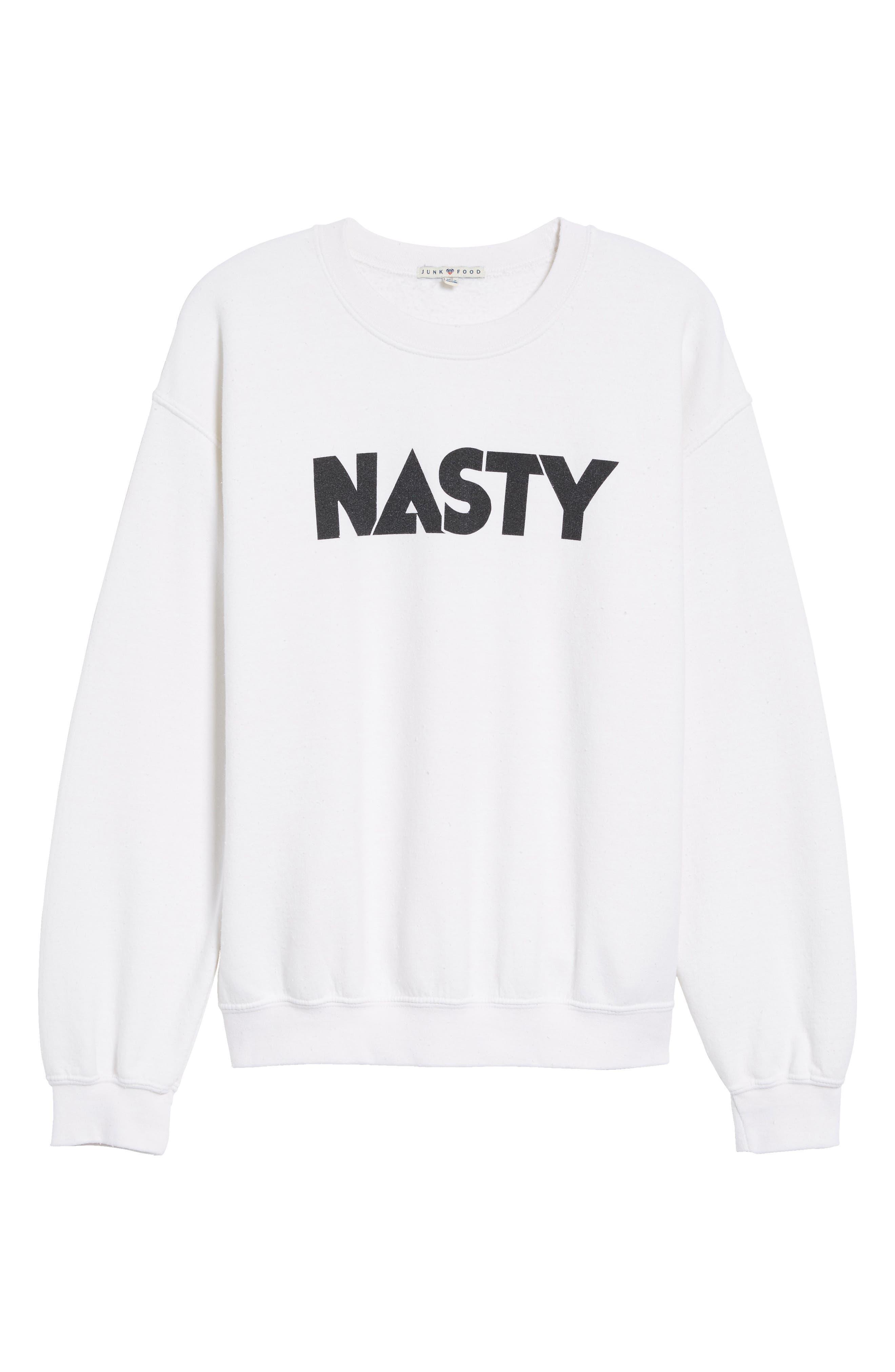 Alternate Image 6  - Junk Food Nasty Sweatshirt