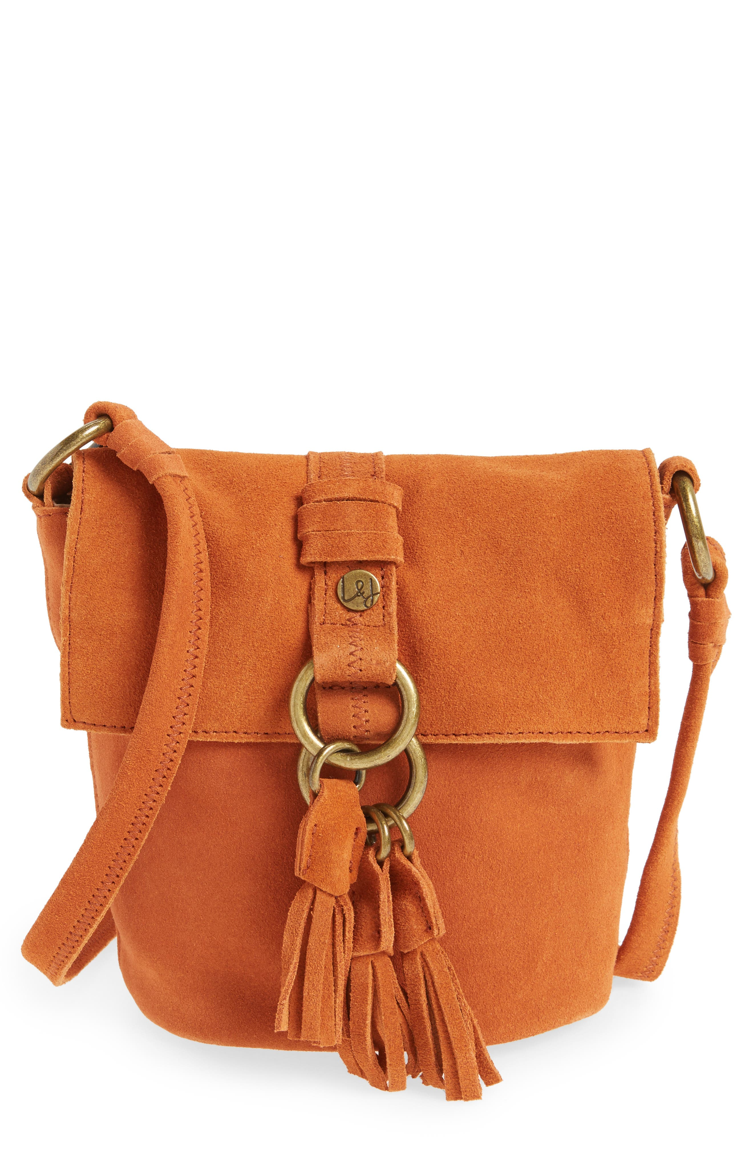 Elle & Jae Gypset Wildleder Suede Crossbody Bag