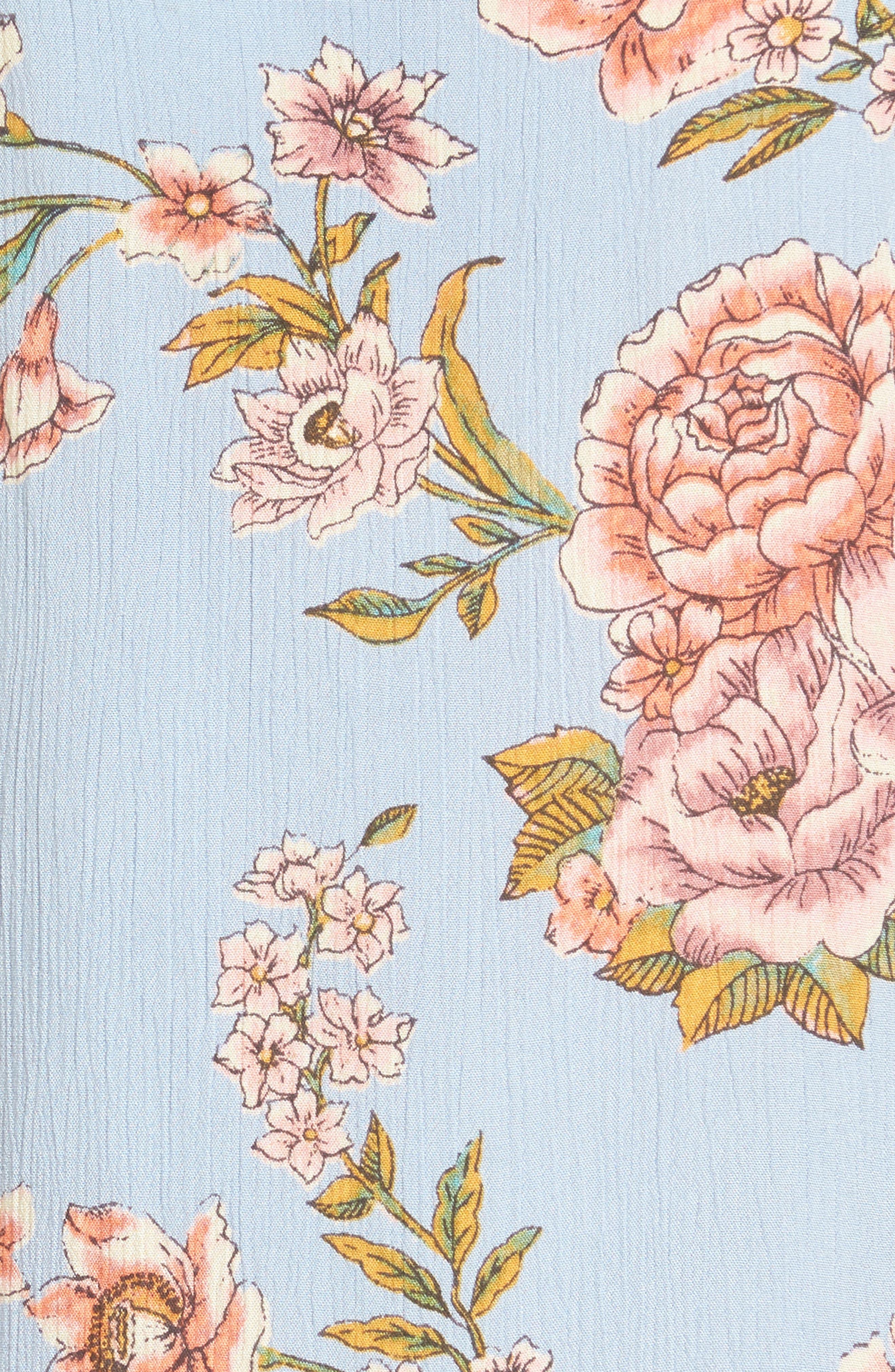 Alternate Image 5  - Billabong Night Out Floral Camisole Dress