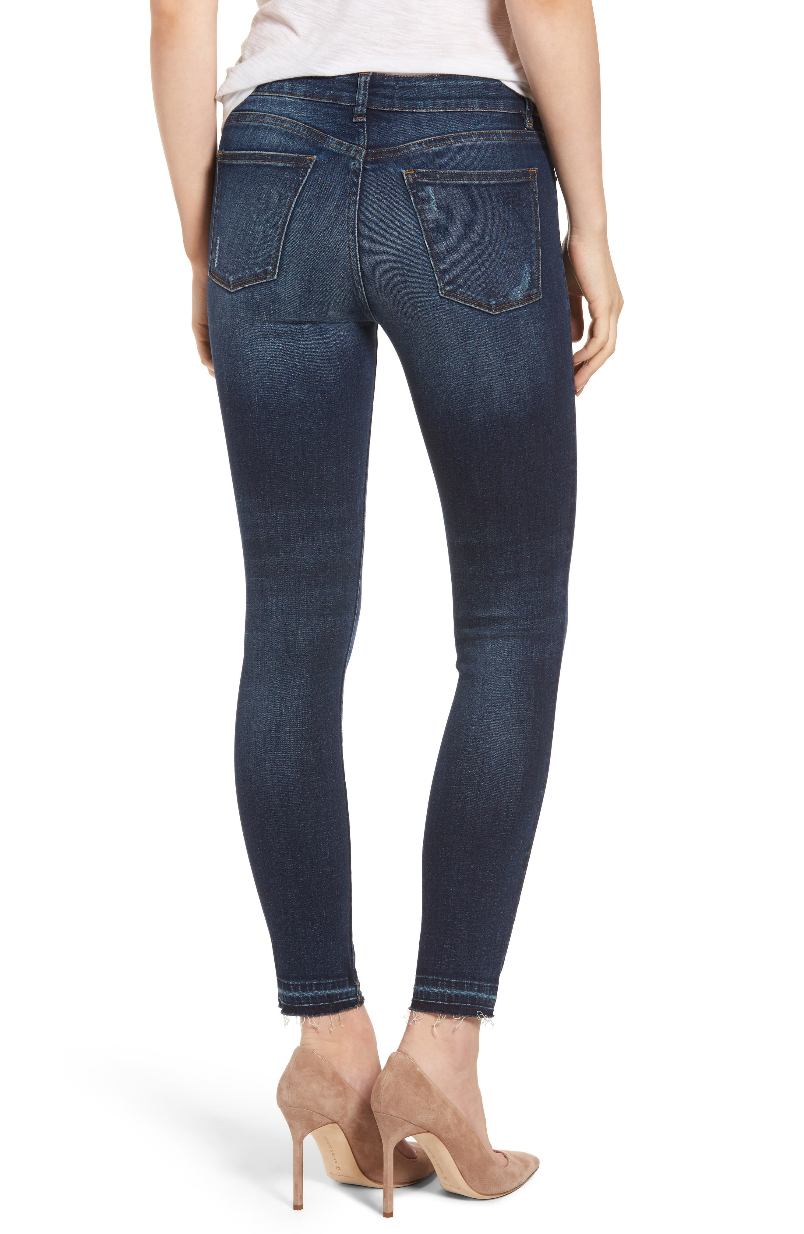 Margaux Instasculpt Ankle Skinny Jeans,                             Alternate thumbnail 2, color,                             Theila
