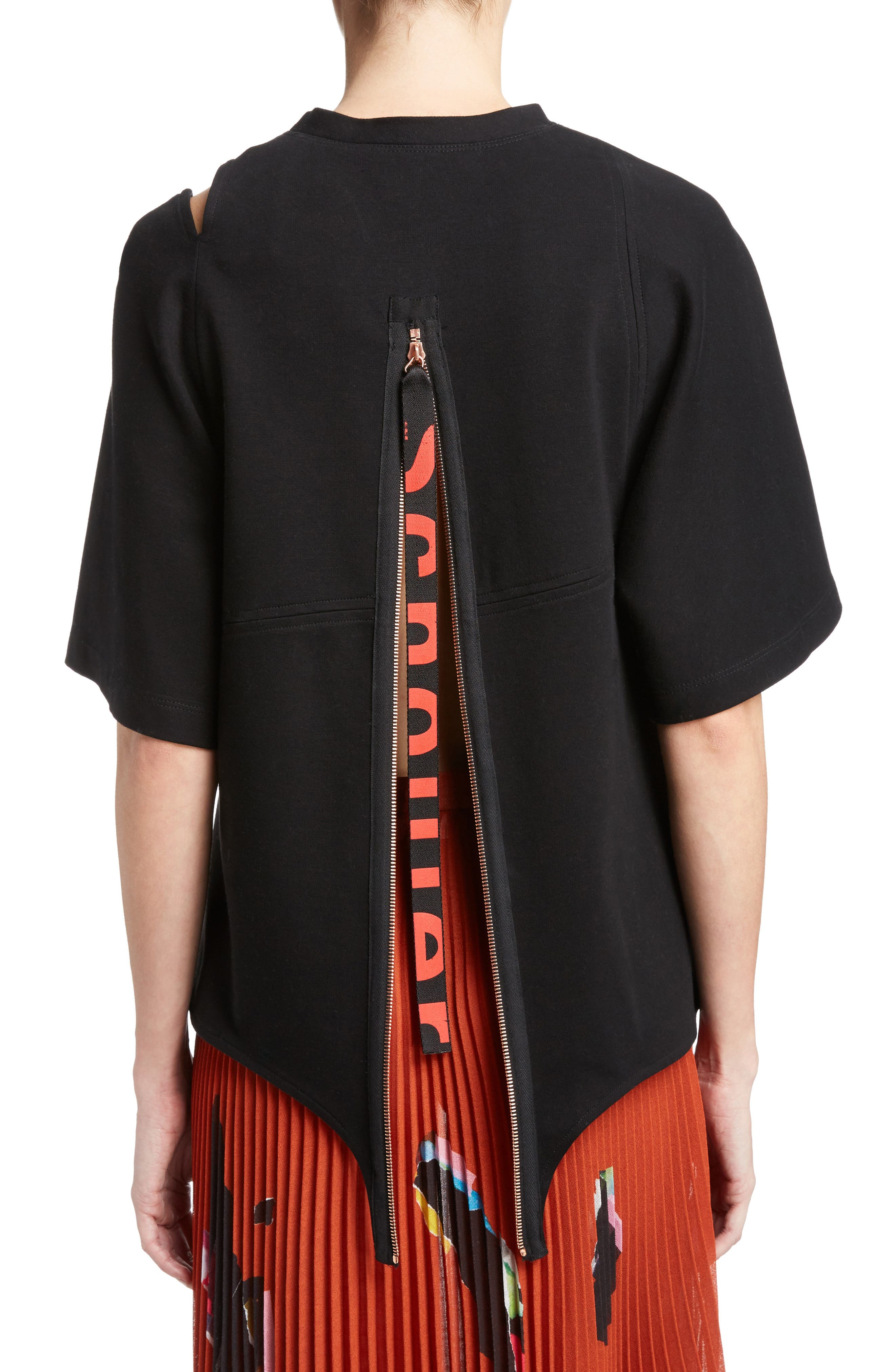 Alternate Image 2  - Proenza Schouler Asymmetrical Jersey Top
