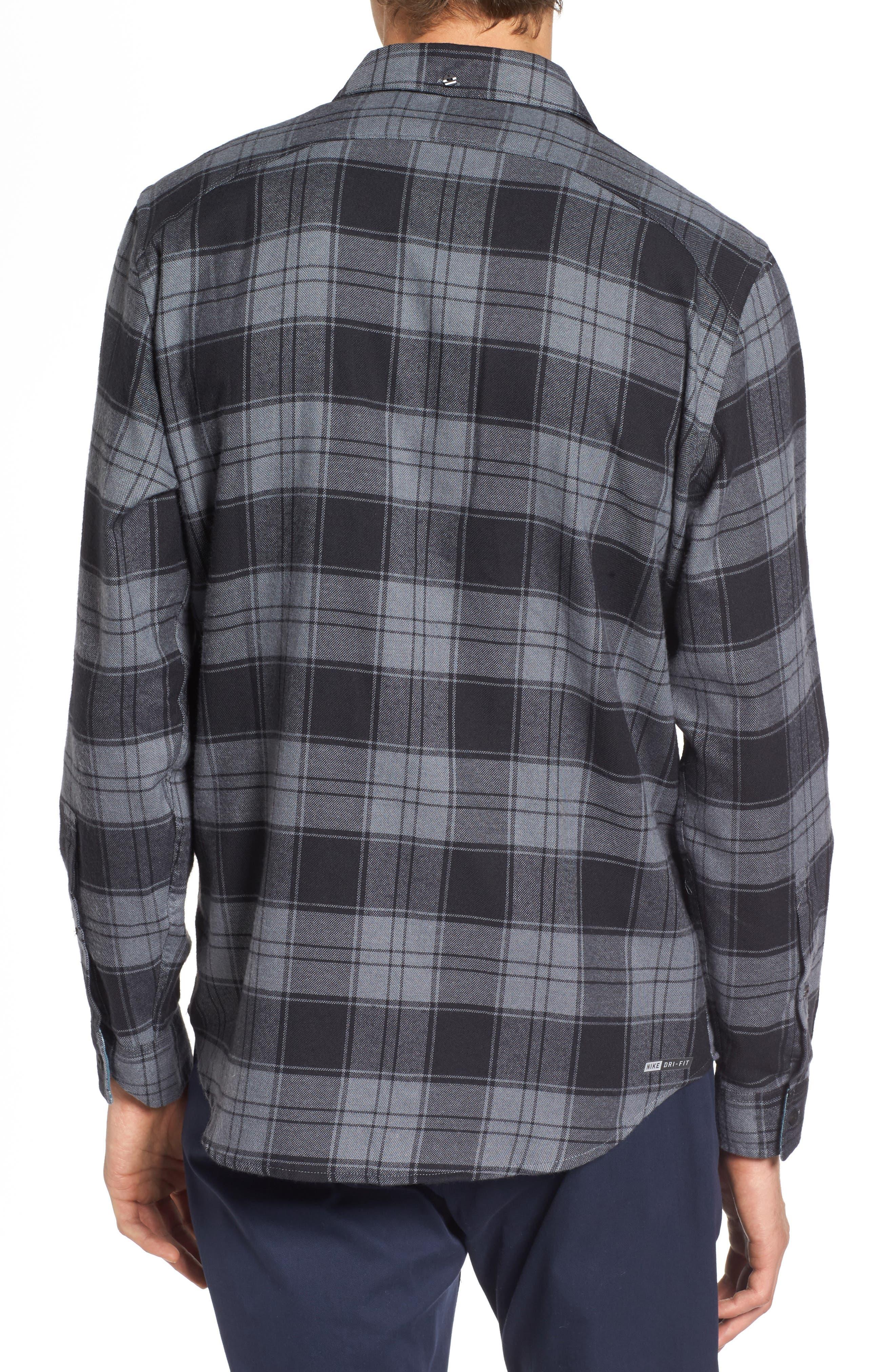 Alternate Image 2  - Hurley Check Dri-FIT Shirt