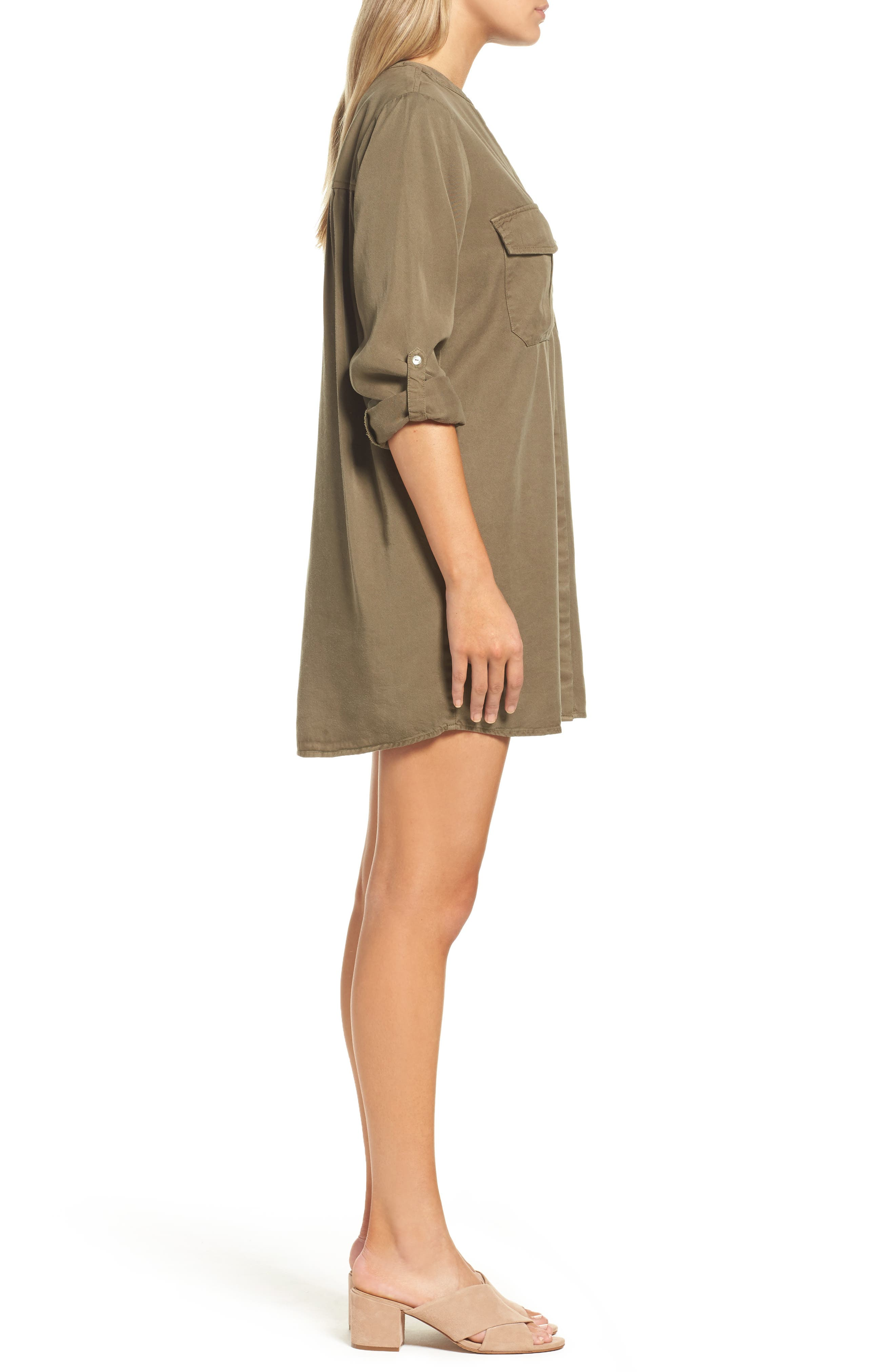 Alternate Image 3  - Knot Sisters Cooper Shirtdress