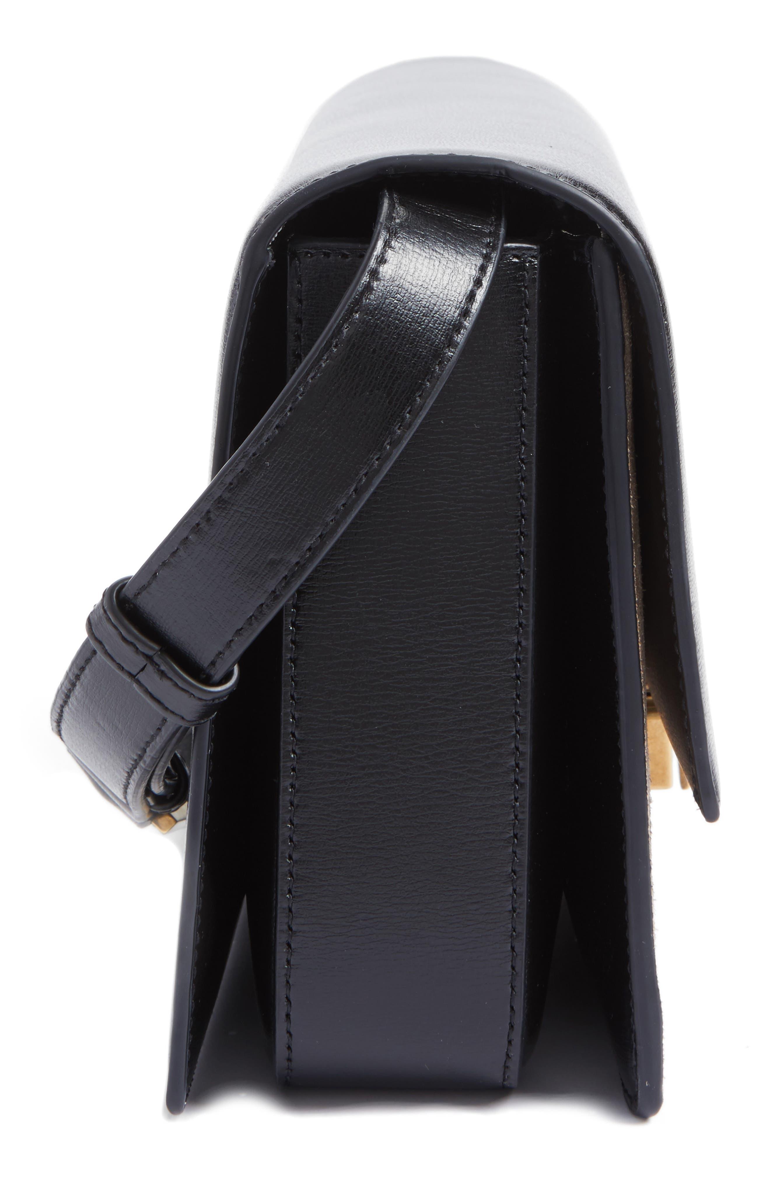 Alternate Image 5  - Saint Laurent Medium Bellechasse Suede & Leather Shoulder Bag