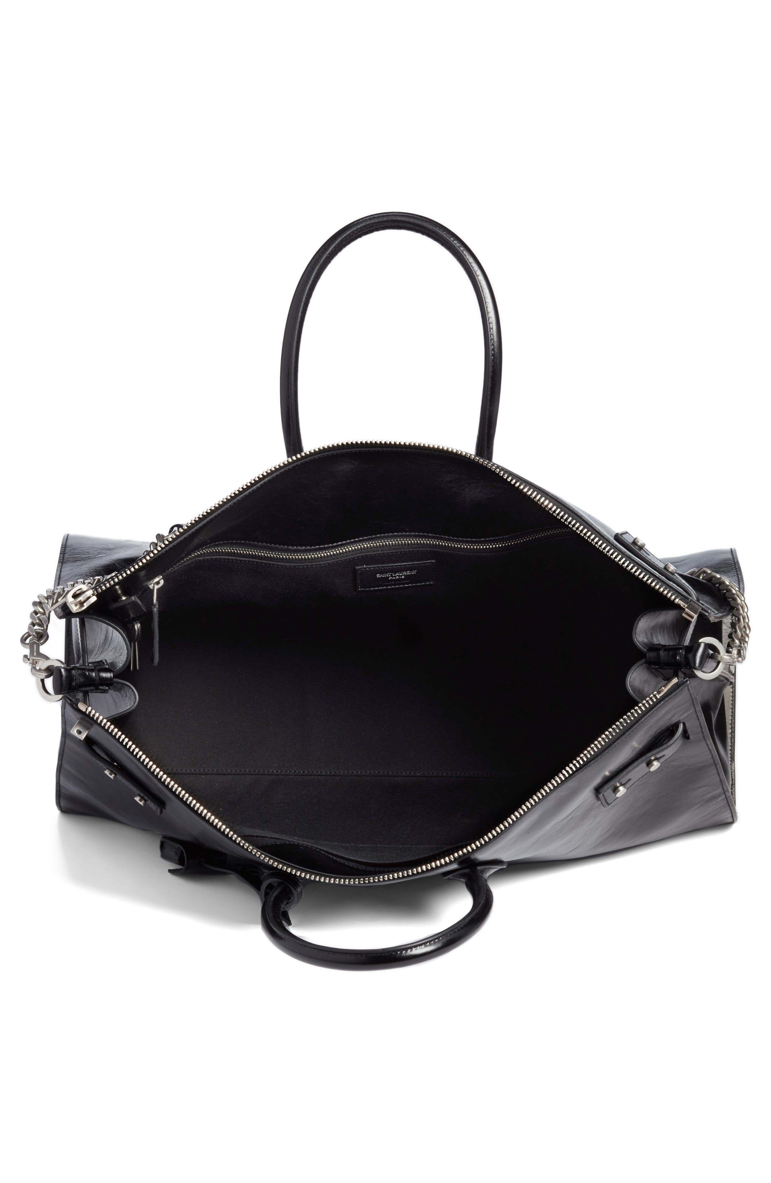 Alternate Image 3  - Saint Laurent Sac de Jour Glacé Moroder Leather Duffel