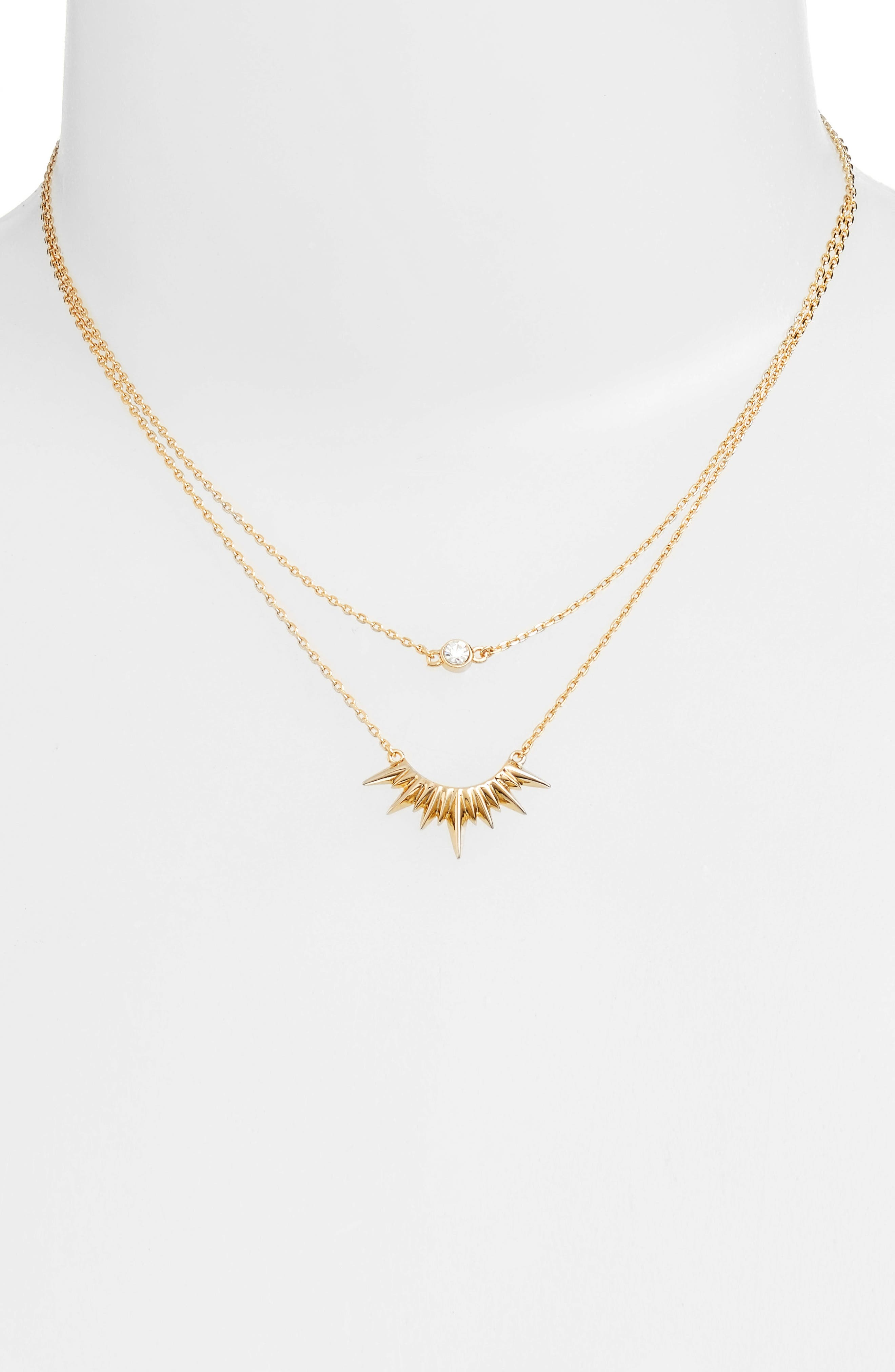 Alternate Image 2  - Jules Smith Magella Multistrand Pendant Necklace