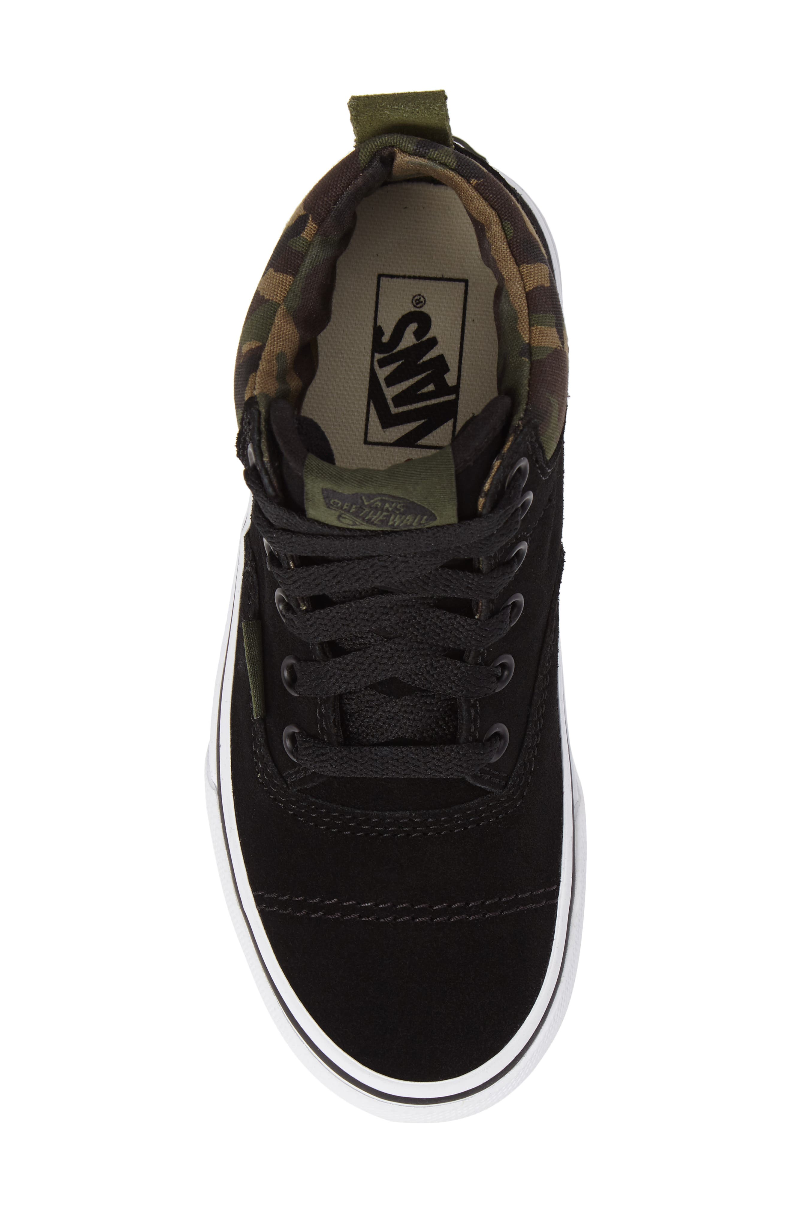 Era - Hi Sneaker,                             Alternate thumbnail 5, color,                             Classic Camo/ Black Suede