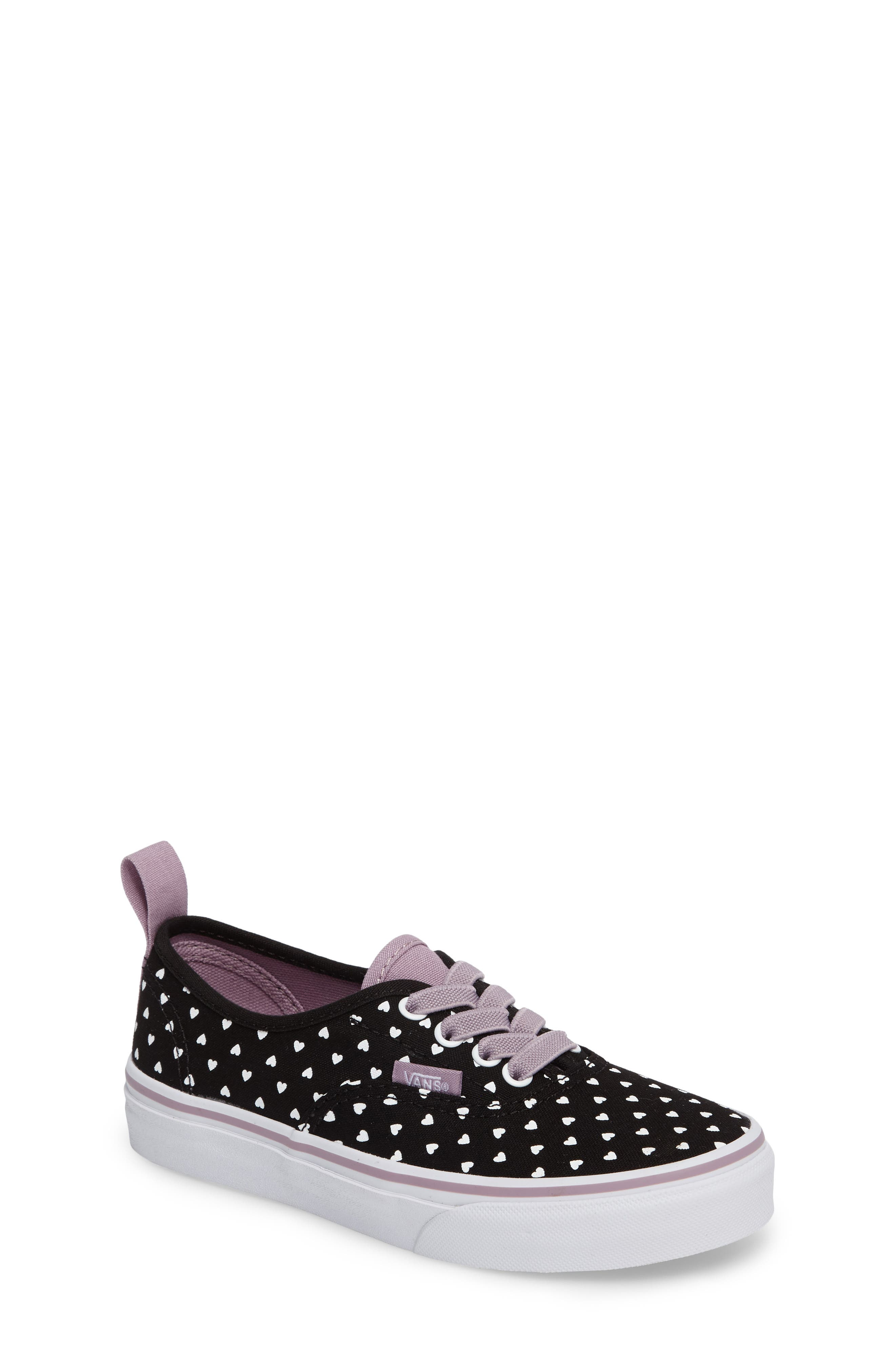 Main Image - Vans Authentic Elastic Lace Sneaker (Baby, Walker, Toddler, Little Kid & Big Kid)