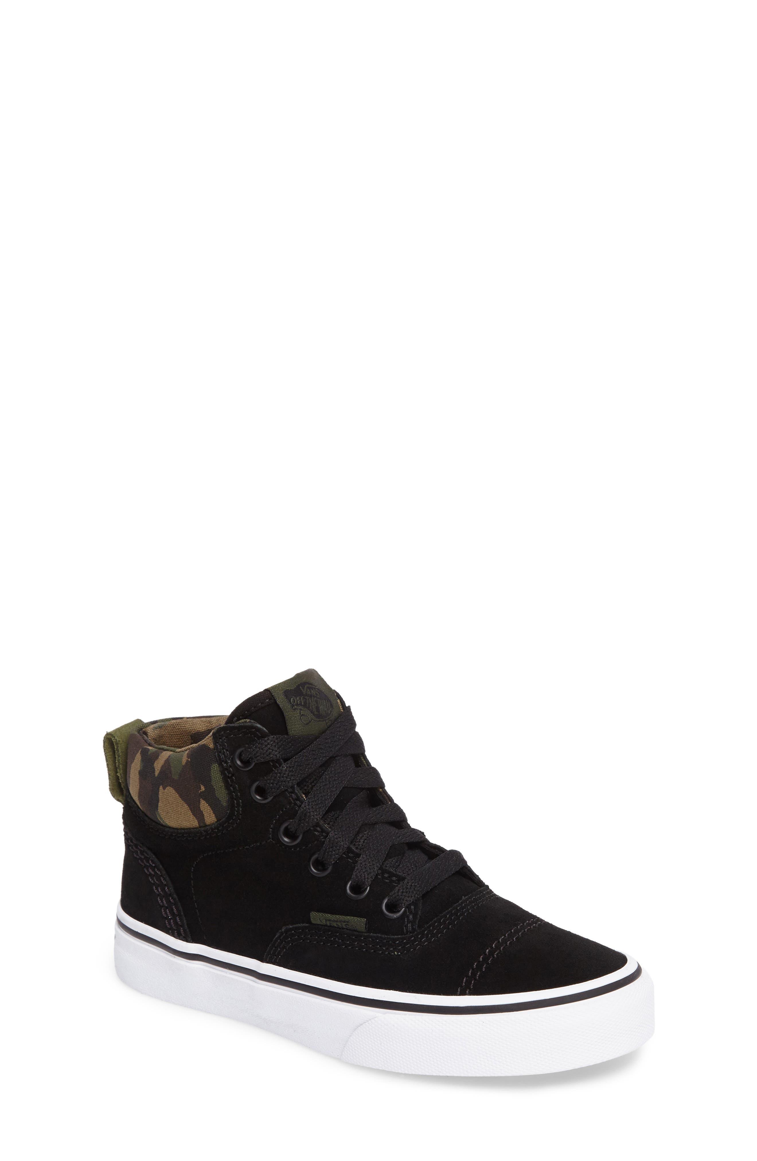 Era - Hi Sneaker,                             Main thumbnail 1, color,                             Classic Camo/ Black Suede