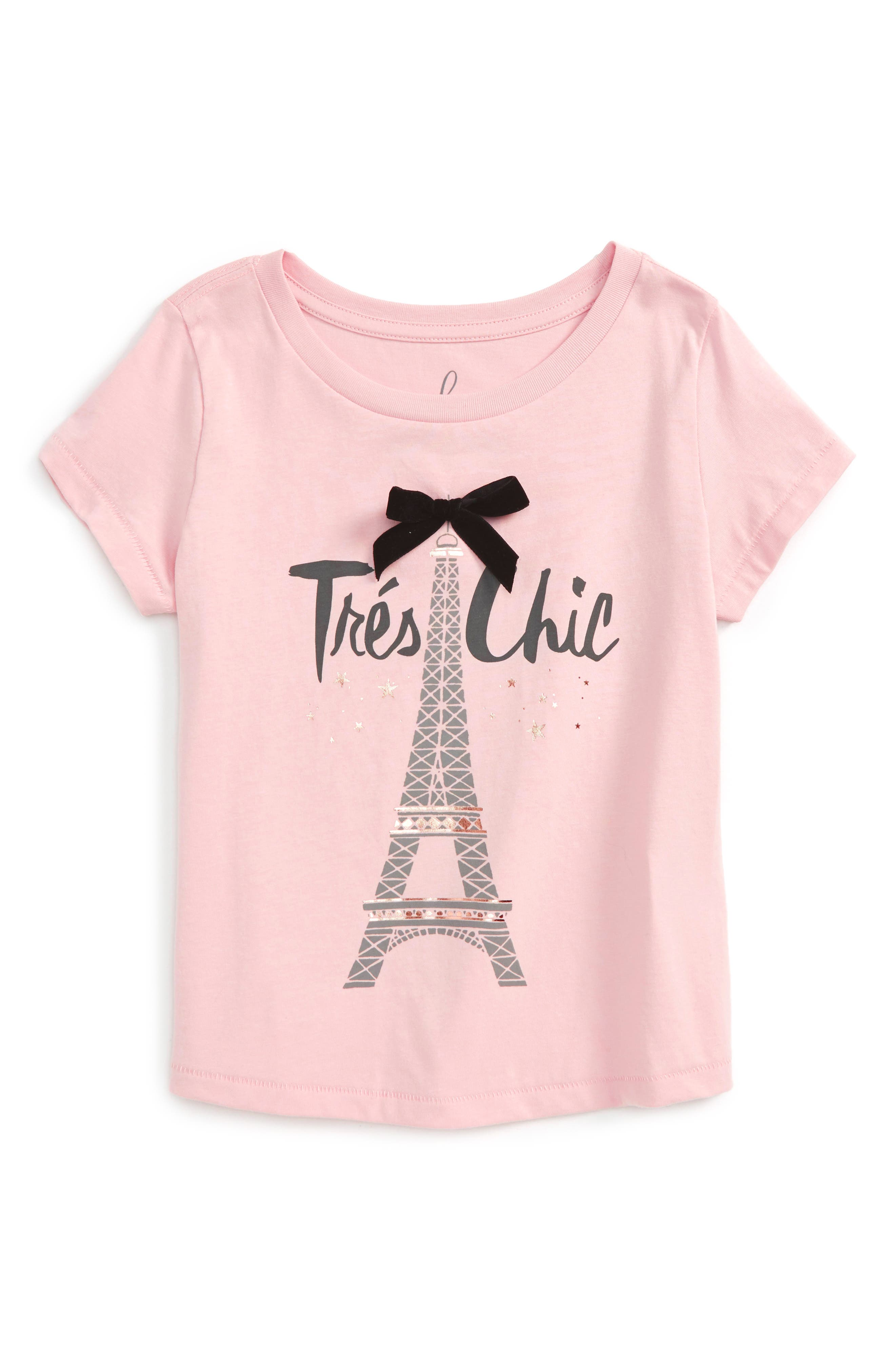 Peek Trés Chic Tee (Toddler Girls, Little Girls & Big Girls)