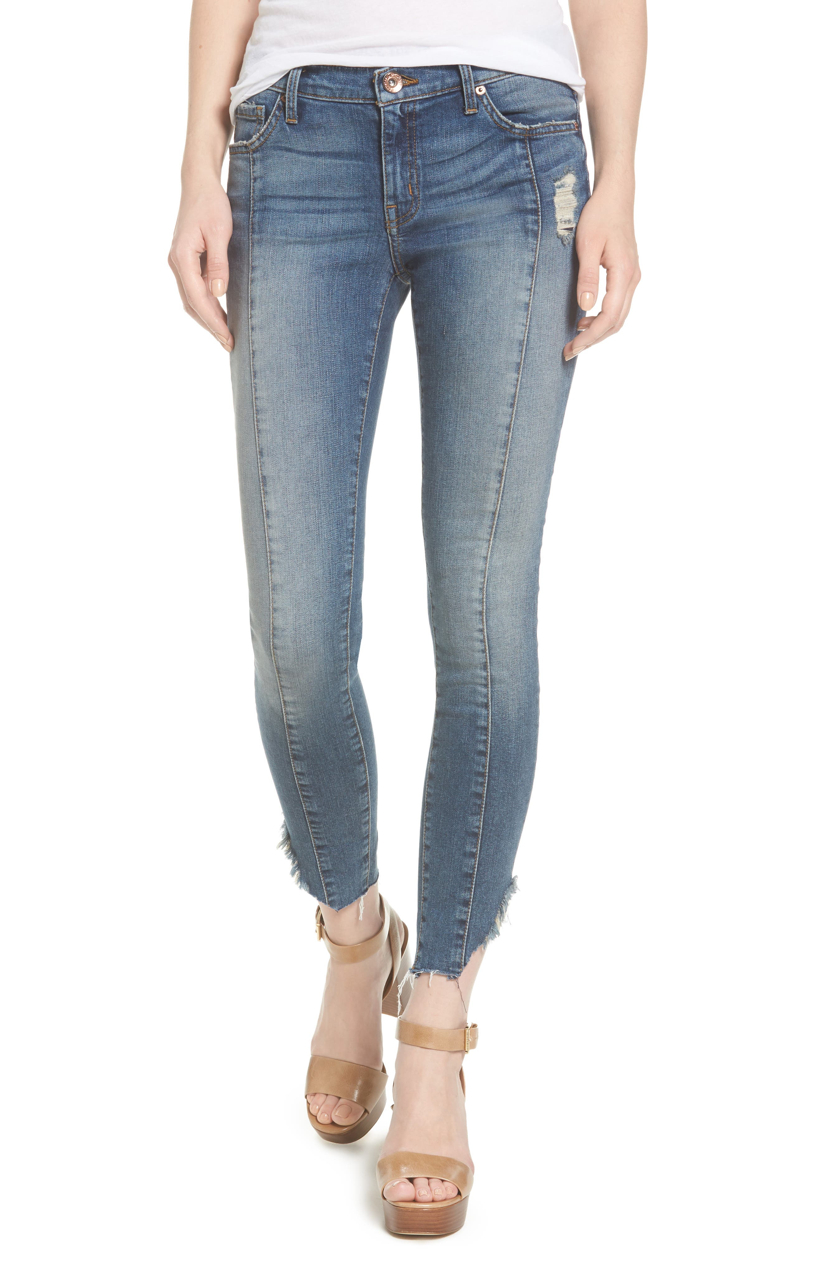 Band of Gypsies Lola Front Seam Skinny Jeans (Way Out)