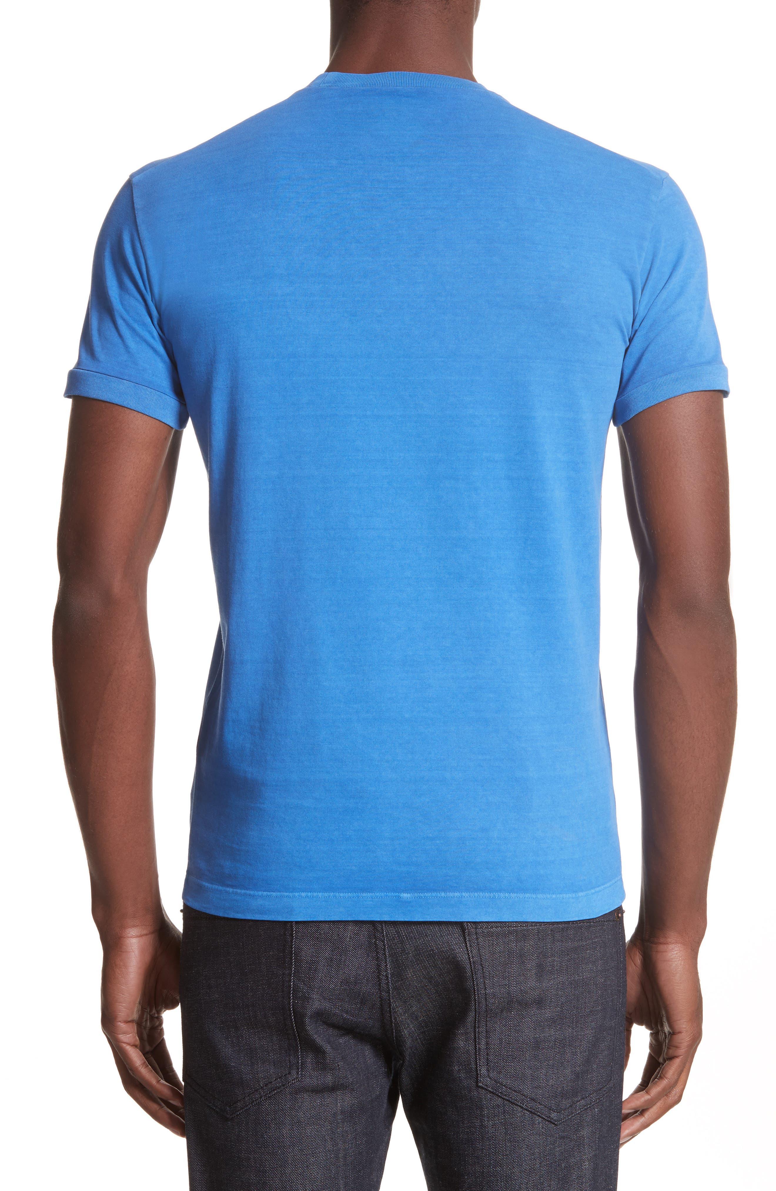 Bear Graphic T-Shirt,                             Alternate thumbnail 2, color,                             Light Blue