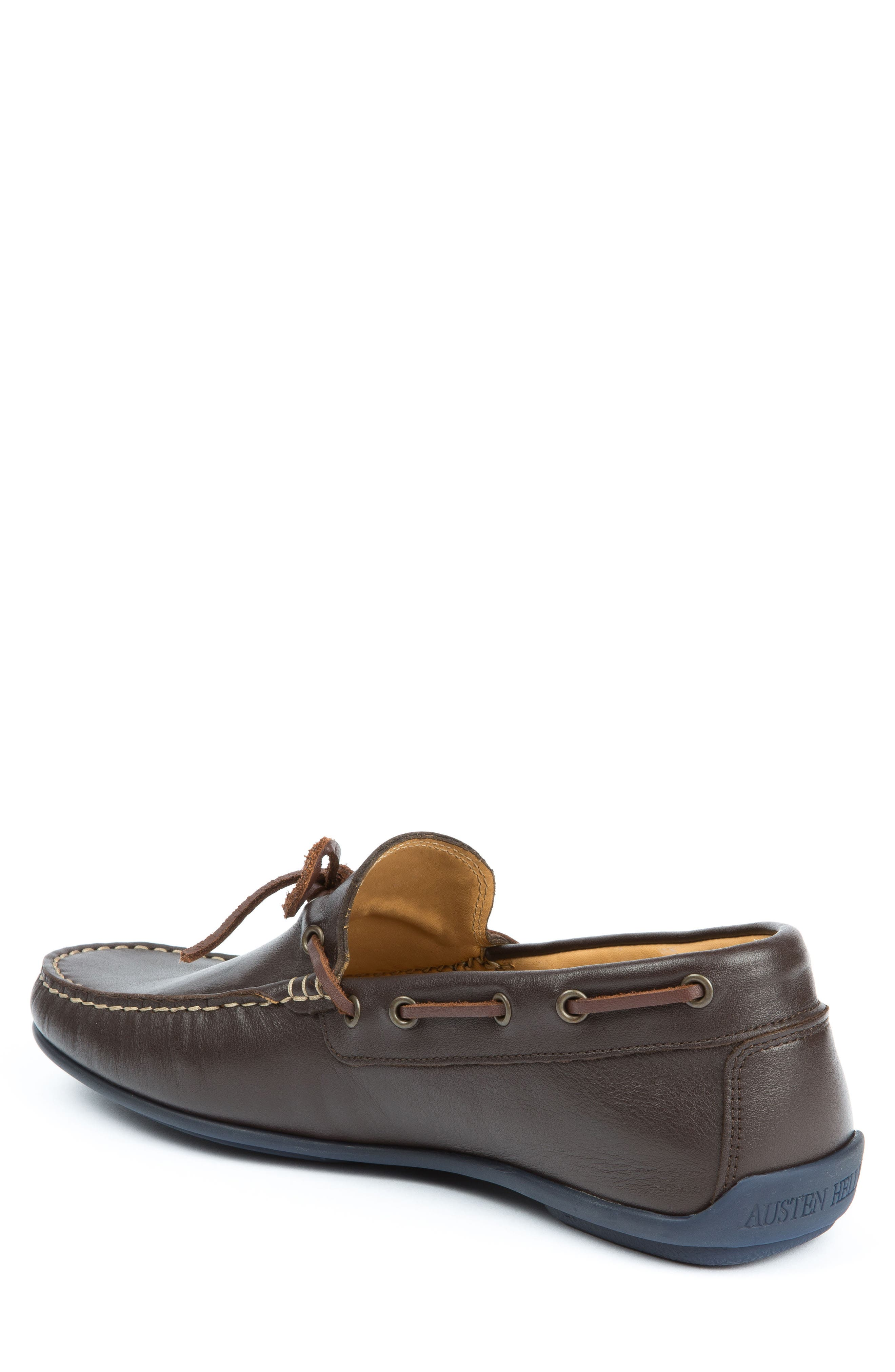 Fillmores Loafer,                             Alternate thumbnail 2, color,                             Brown Leather/ Natural/ Navy