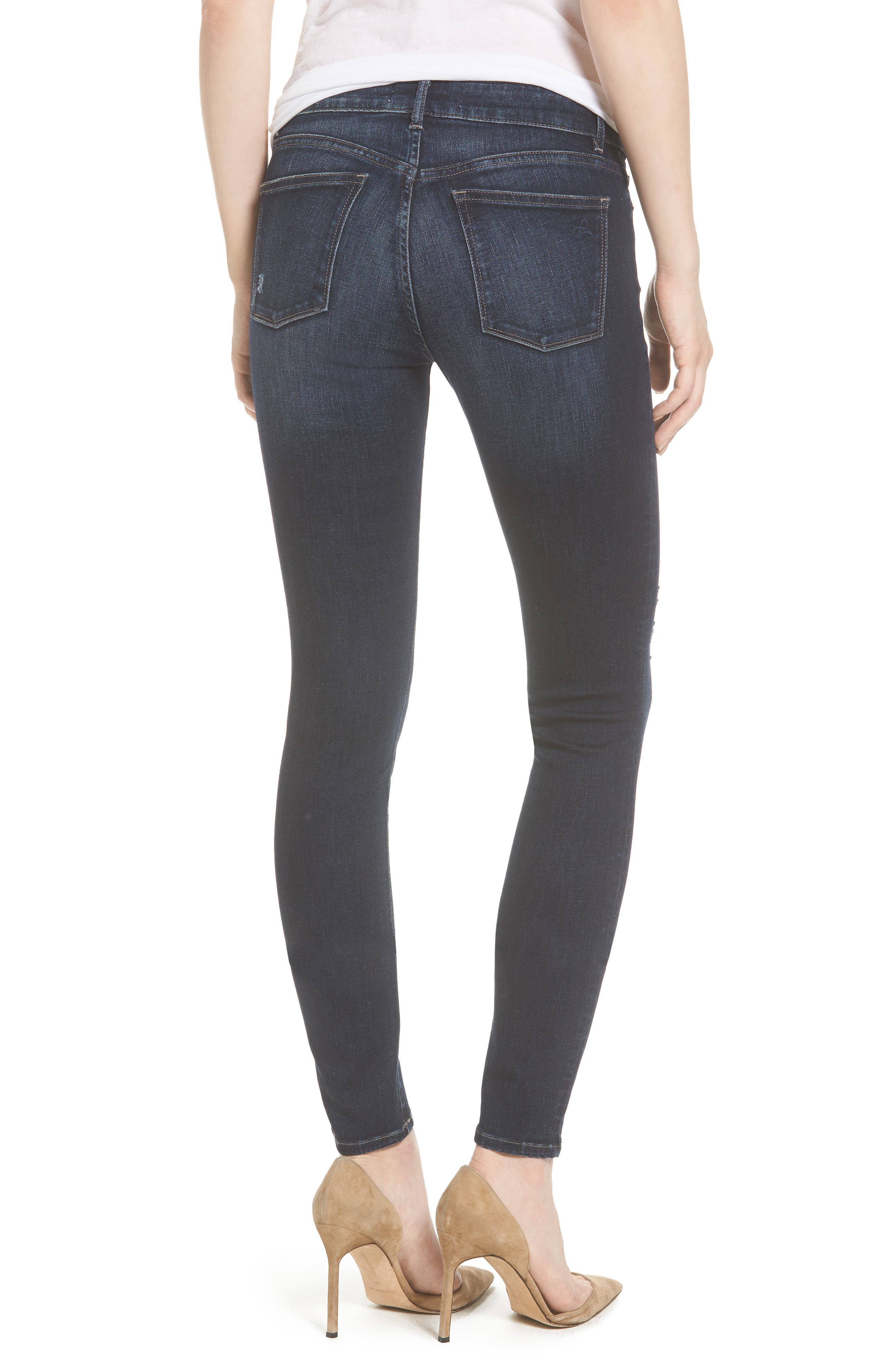 Florence Instasculpt Skinny Jeans,                             Alternate thumbnail 2, color,                             Darcy