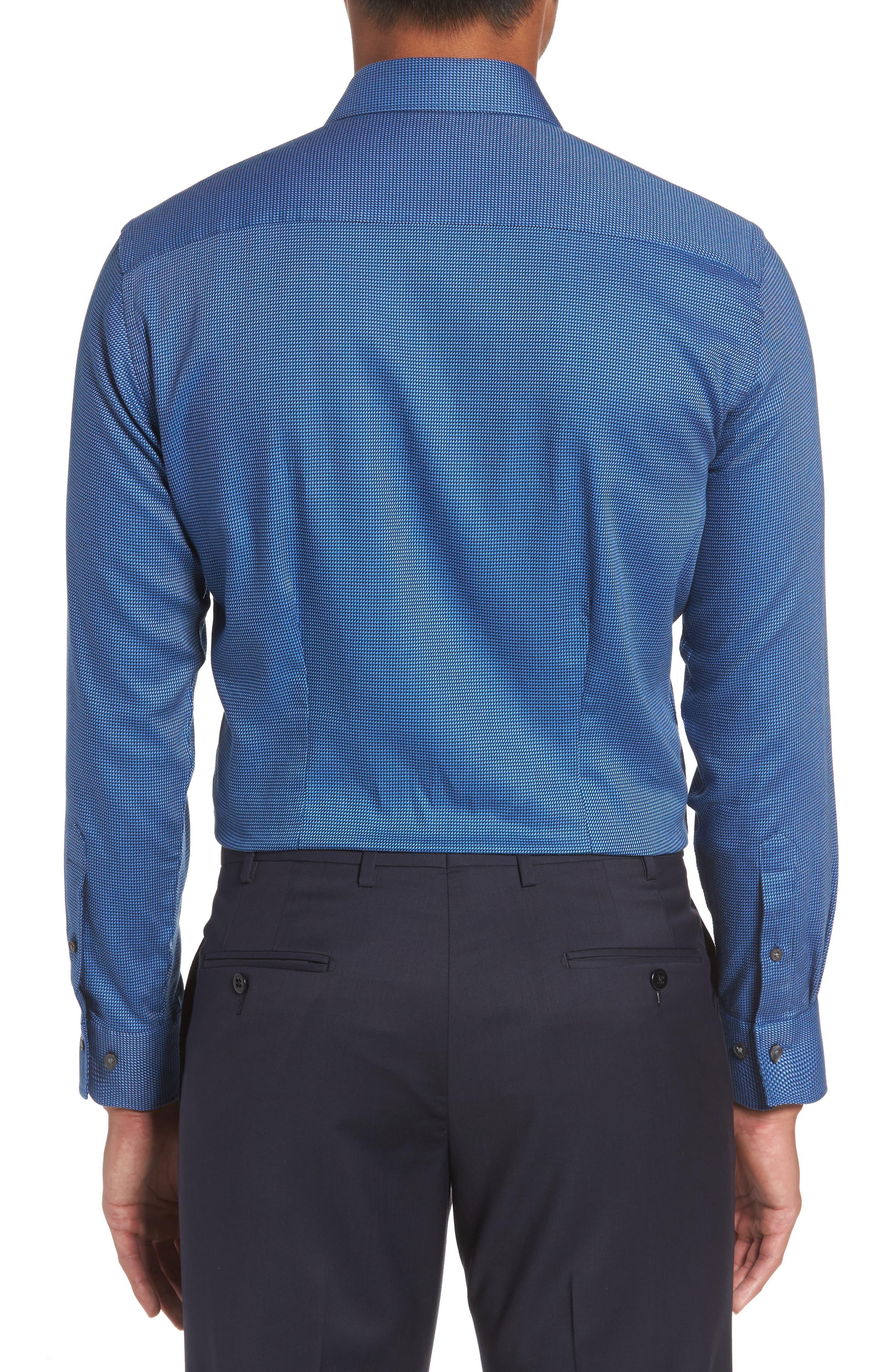 Alternate Image 3  - Ted Baker London Formula Trim Fit Geometric Dress Shirt