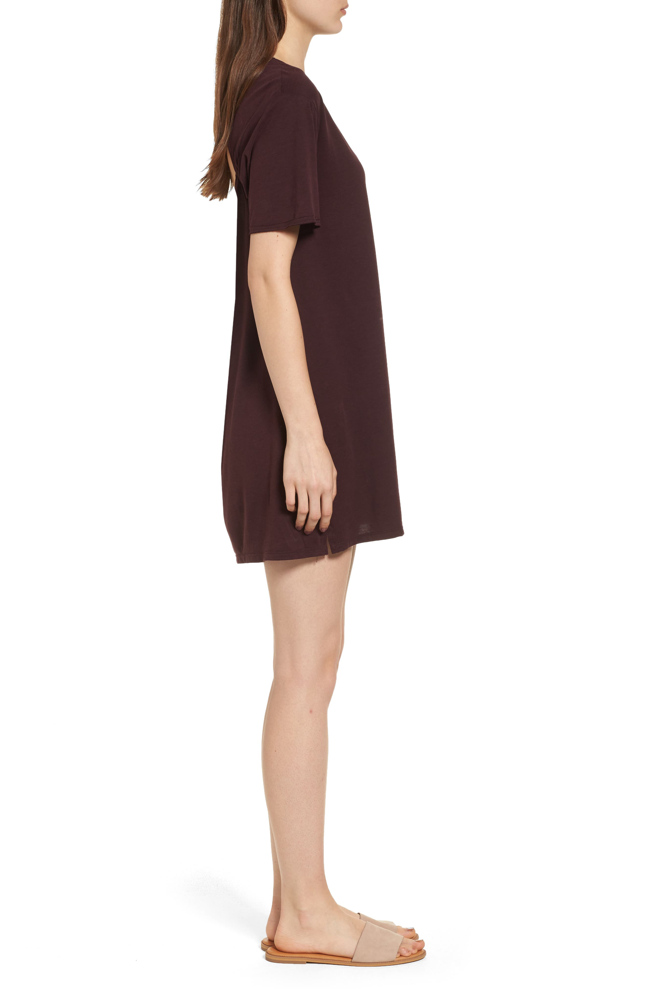 Alternate Image 3  - PST by Project Social T Tie Back T-Shirt Dress