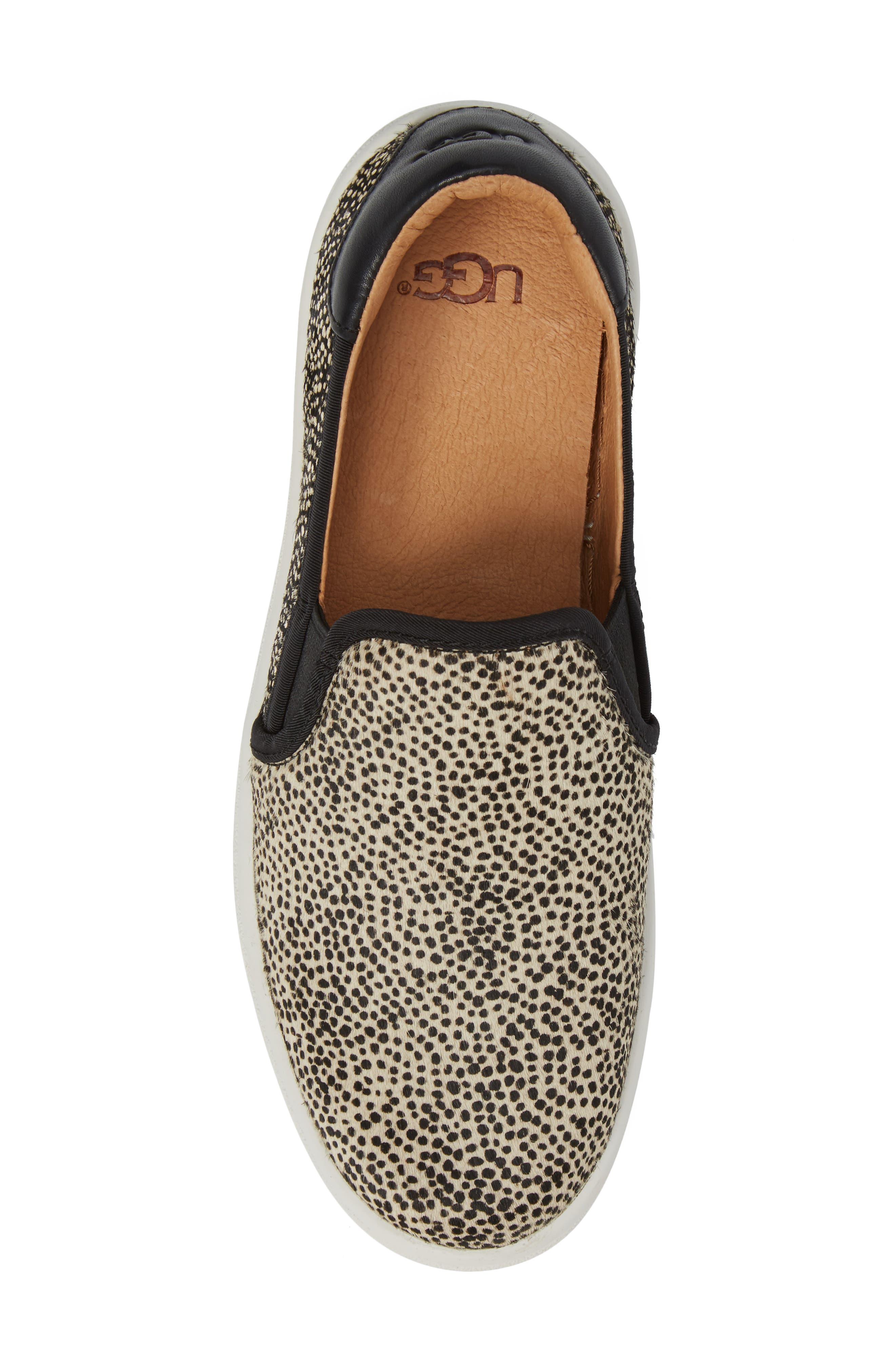 Alternate Image 5  - UGG® Cas Exotic Genuine Calf Hair Slip-On Sneaker (Women)